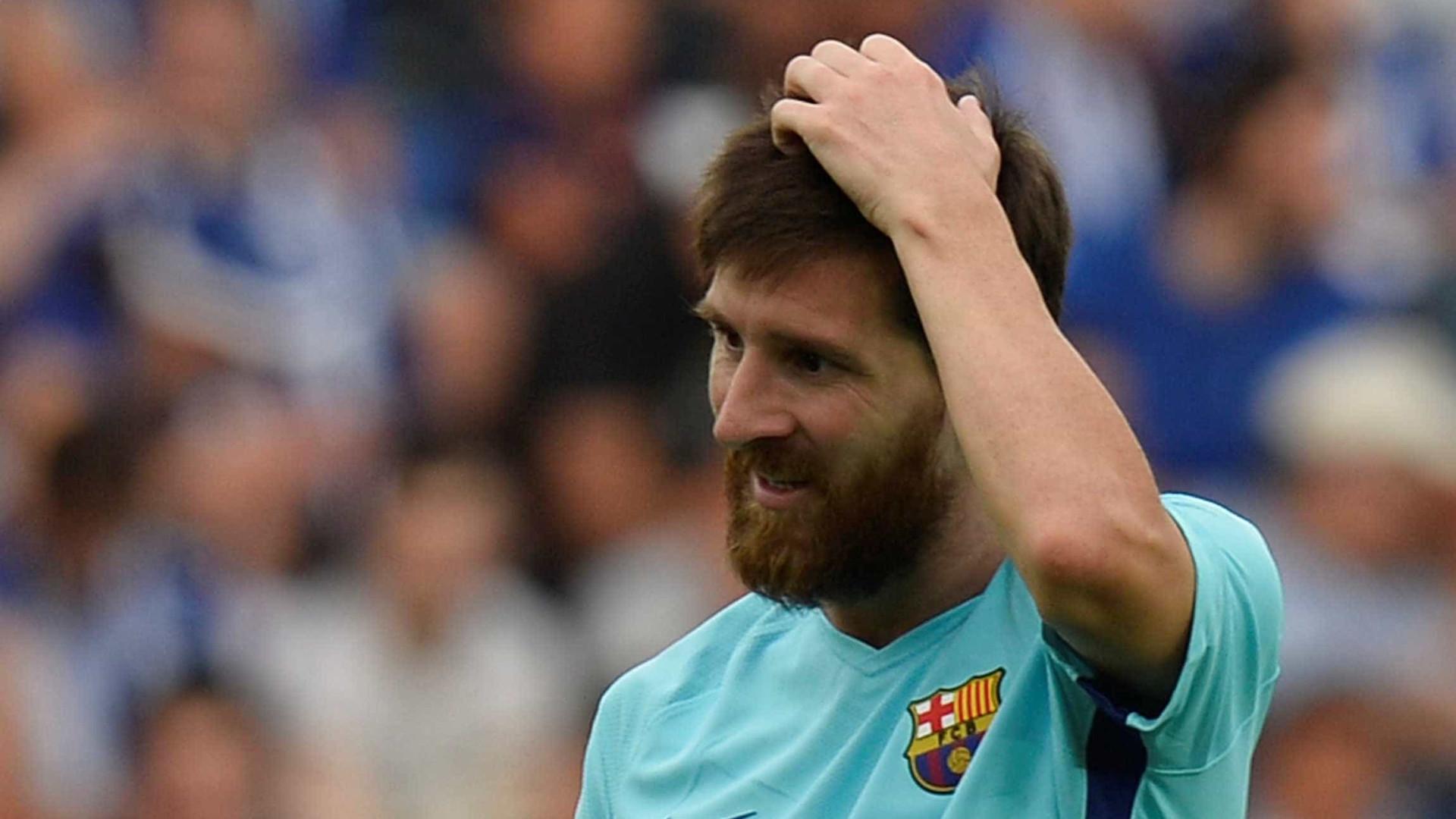 Presidente garante que Messi vai renovar — Barcelona