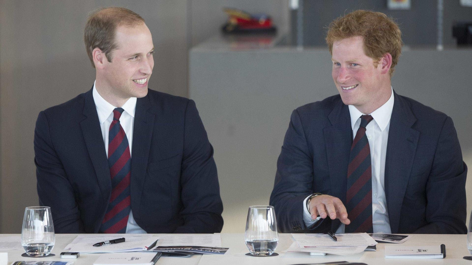 William ainda não foi convidado para ser padrinho de casamento de Harry