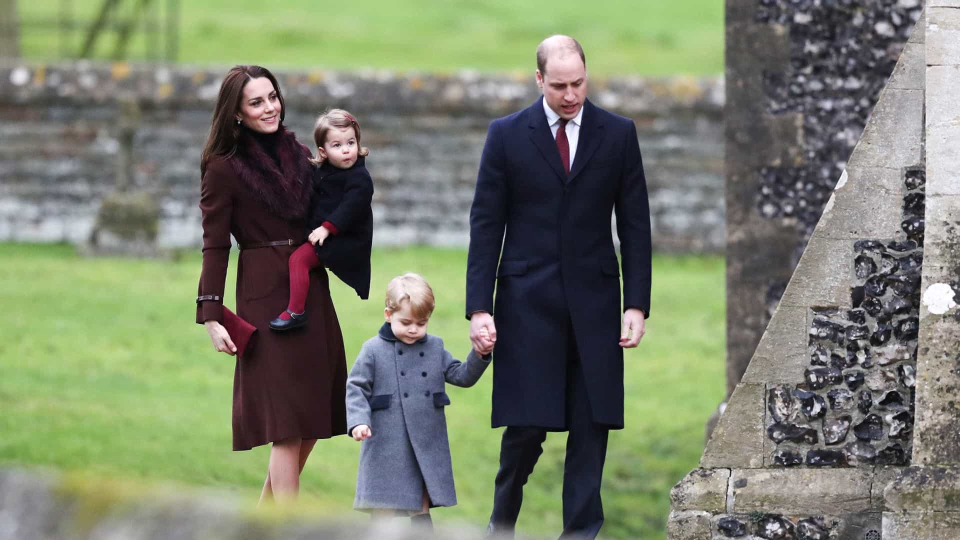 Príncipe William e Kate Middleton esperam 3º filho