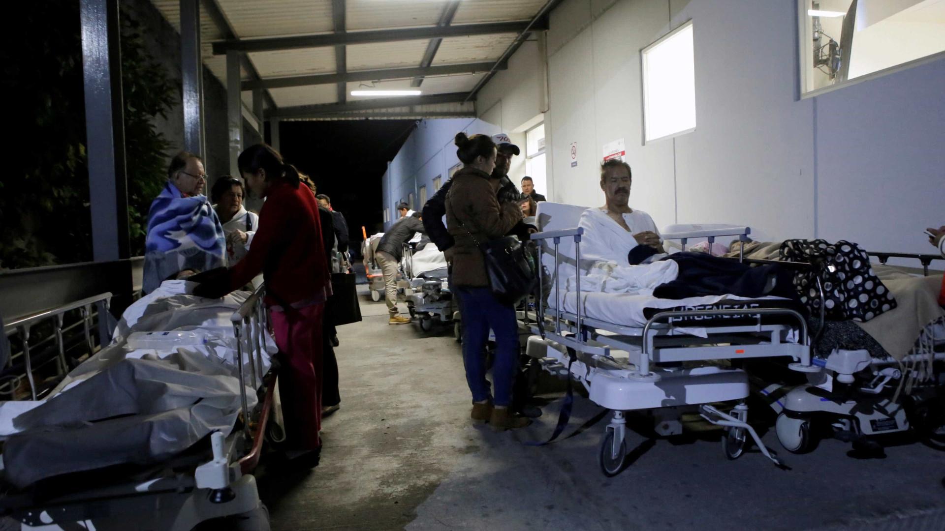 Forte terremoto deixa mortos no México
