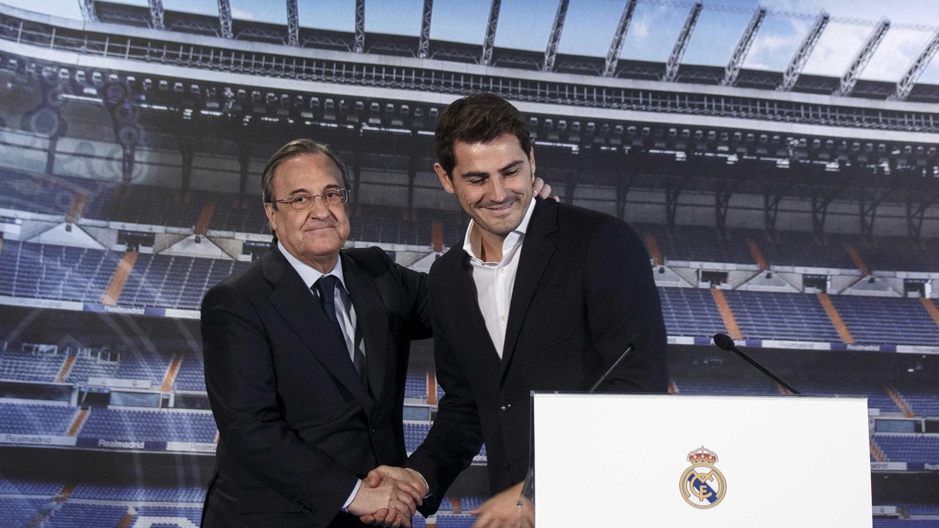 """""""Casillas saiu a ler um papel. Foi o desastre"""""""