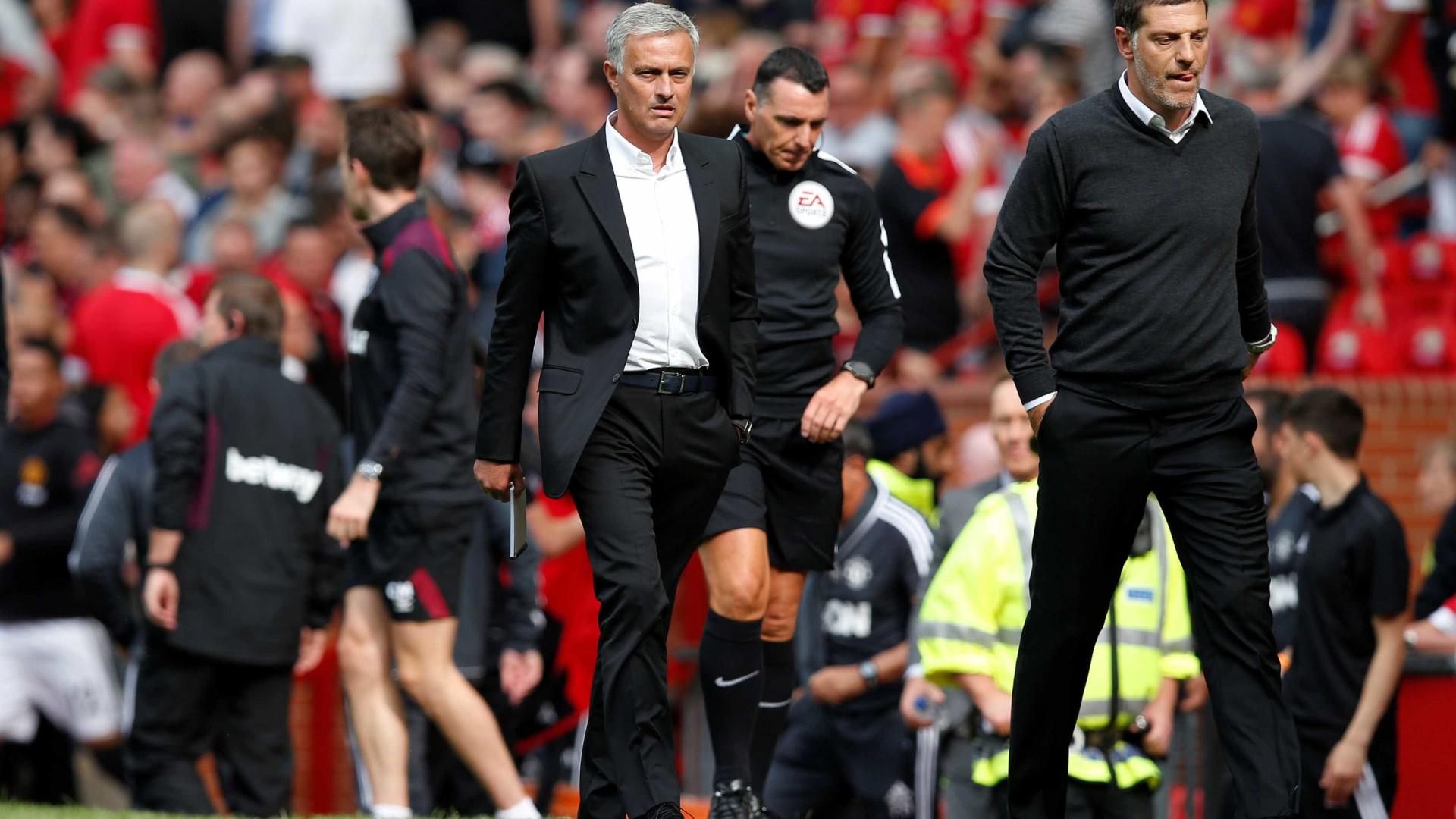 Mourinho cede os primeiros pontos na Premier League