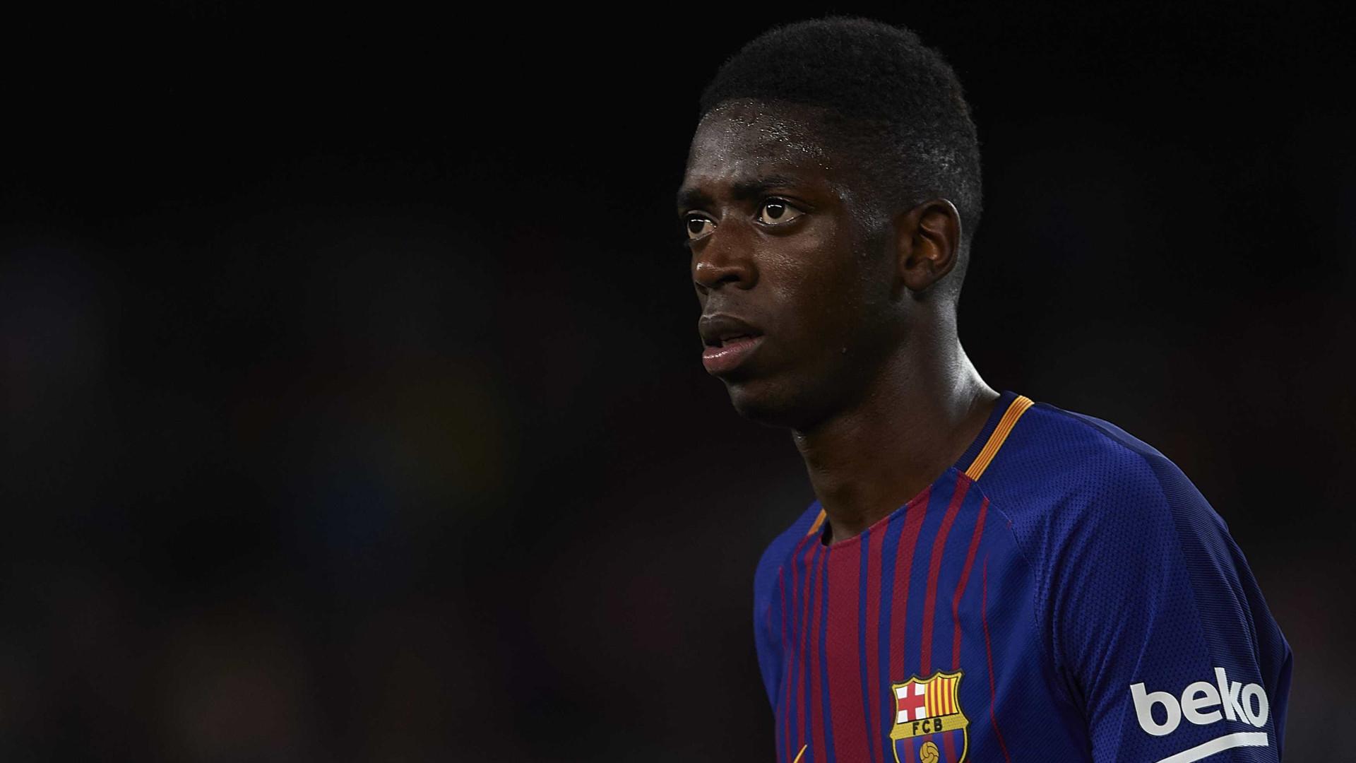 Dembelé regressa aos treinos no FC Barcelona ao fim de três meses