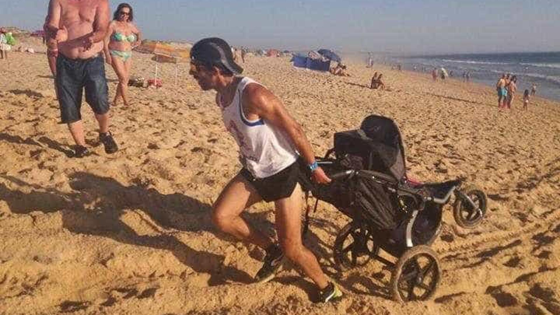 Melissa tem três anos e já 'correu' 700 km. Uma história de amor