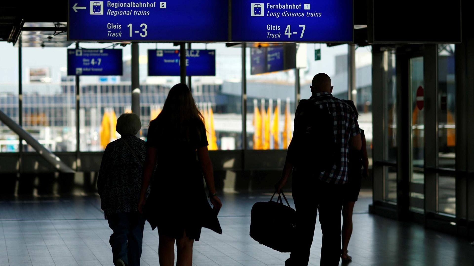 Frankfurt: Ataque com gás no aeroporto deixa várias pessoas indispostas