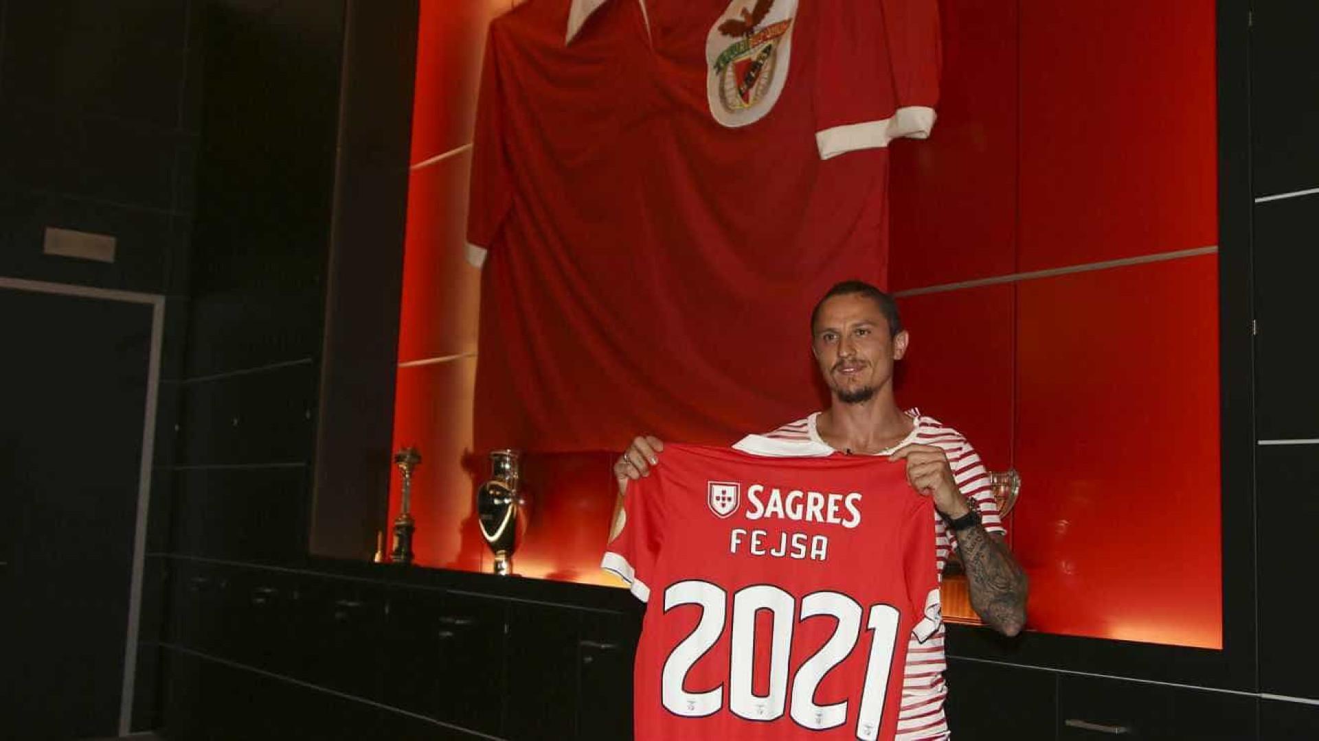 OFICIAL: Fejsa renova pelo Benfica até 2021