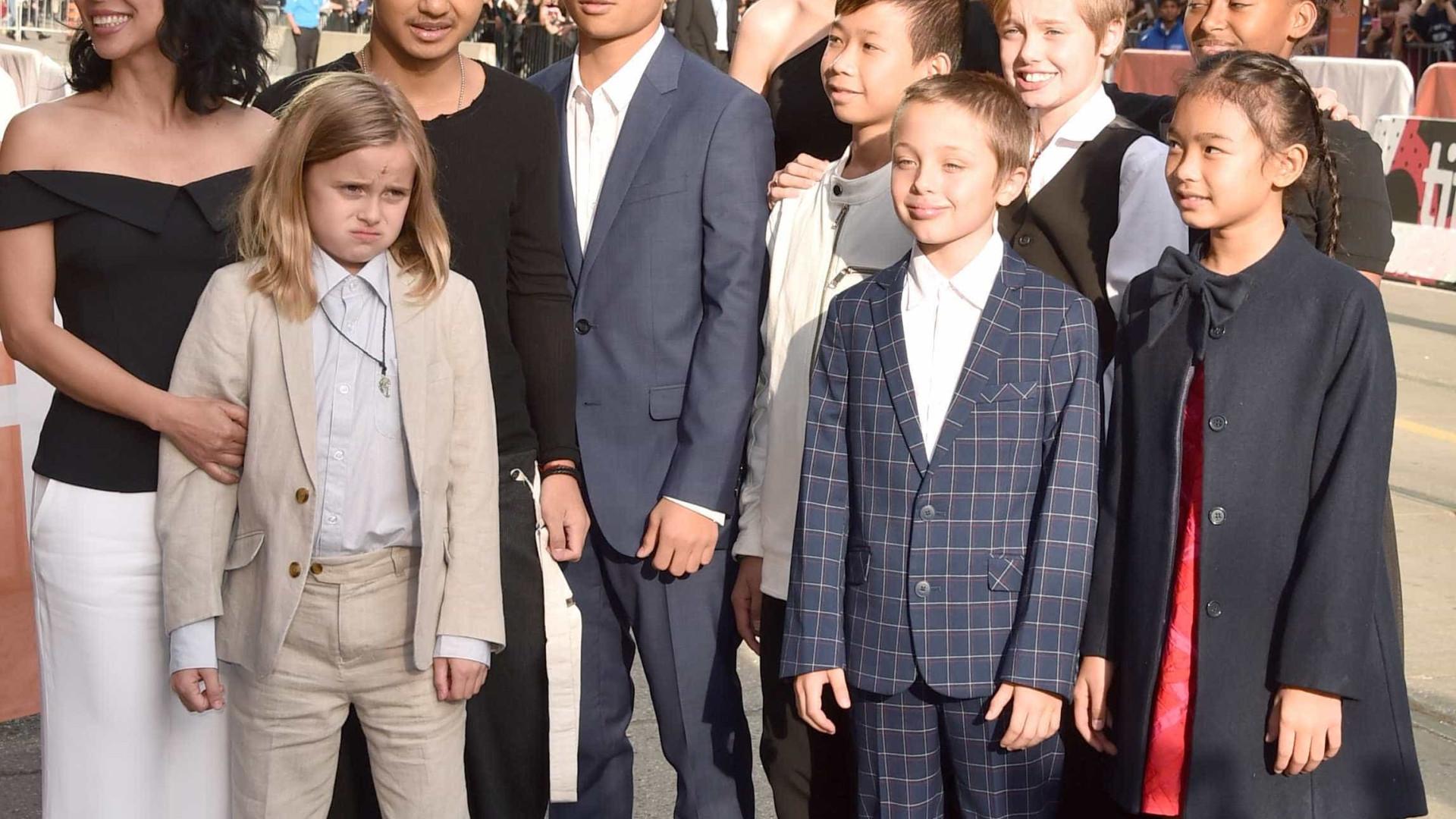 Angelina Jolie quer ver os filhos a trabalhar em Hollywood