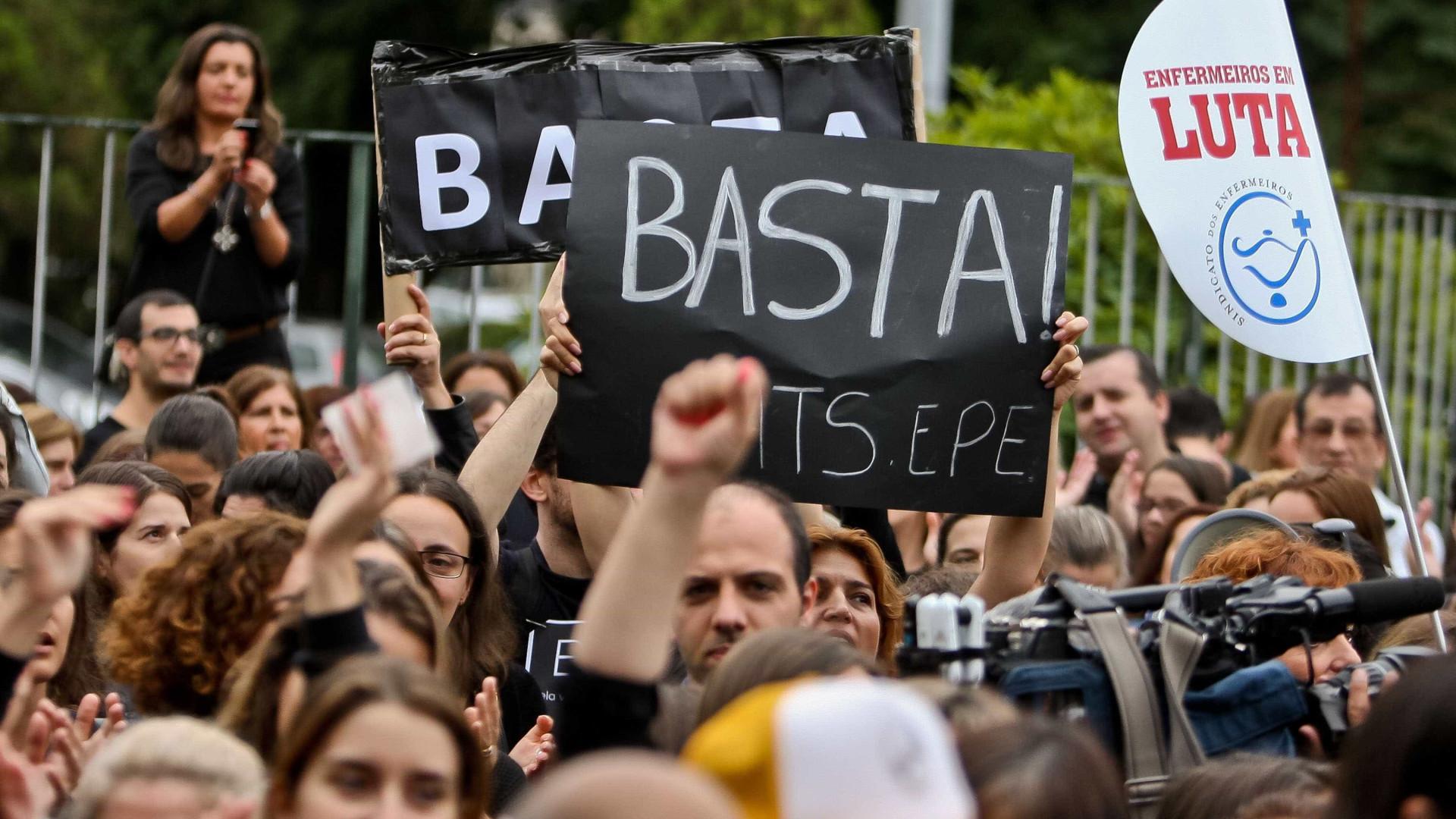 Enfermeiros desconvocam greve marcada para este mês