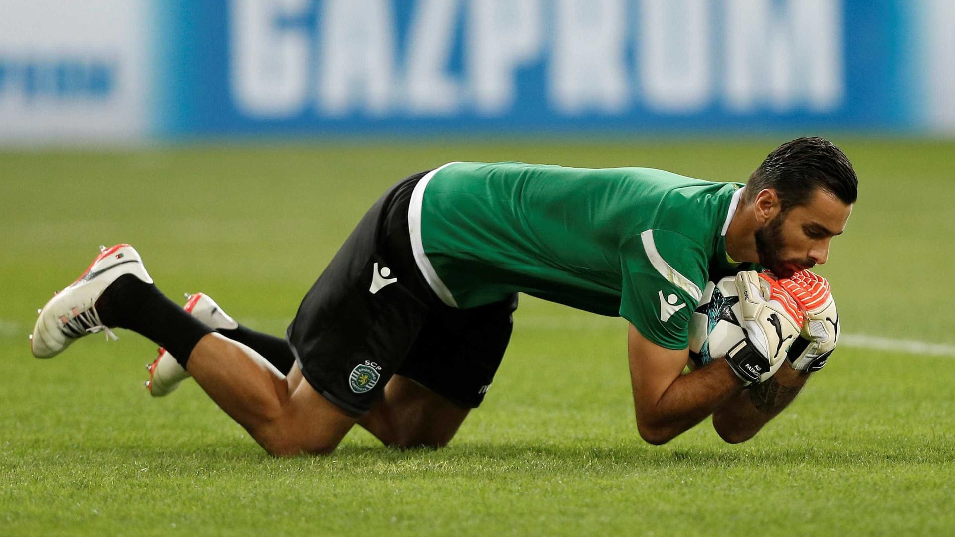 Rui Patrício a um passo do estatuto de lenda no Sporting