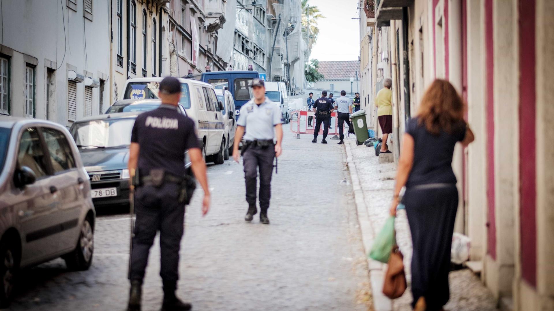 Derrocada de muro faz um morto em Lisboa
