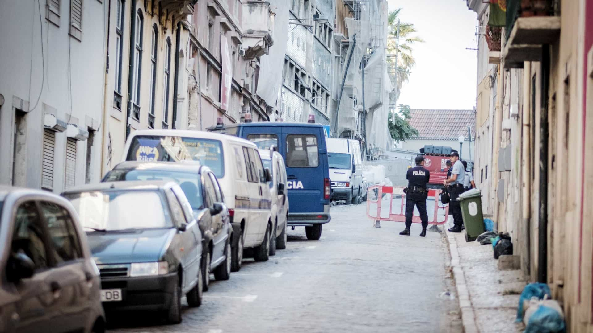 Zona onde ocorreu derrocada em Lisboa reaberta cerca das 20h
