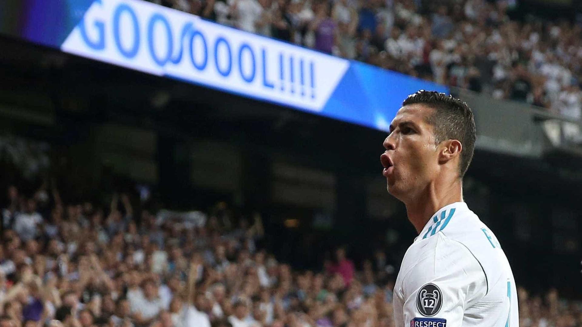 Ronaldo é finalista na corrida ao prémio The Best