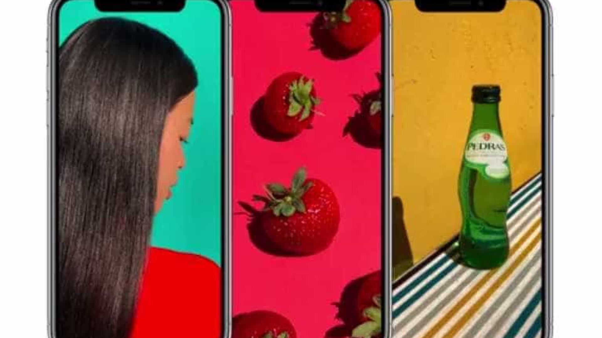 Anúncio do iPhone X 'esqueceu-se' do rótulo da... Água das Pedras