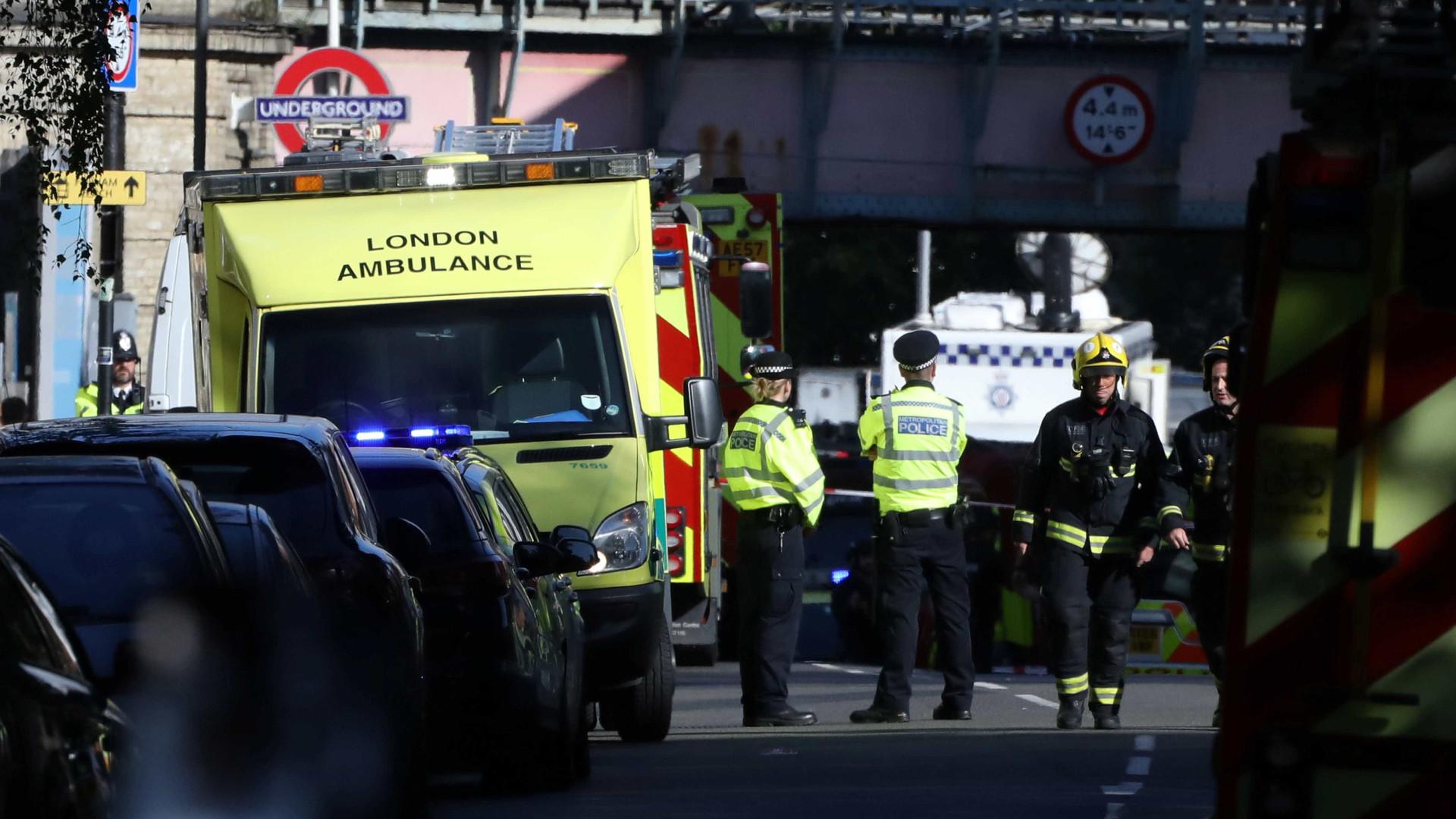 """""""Caça ao homem"""" em Londres. """"Os responsáveis vão ser apanhados"""""""