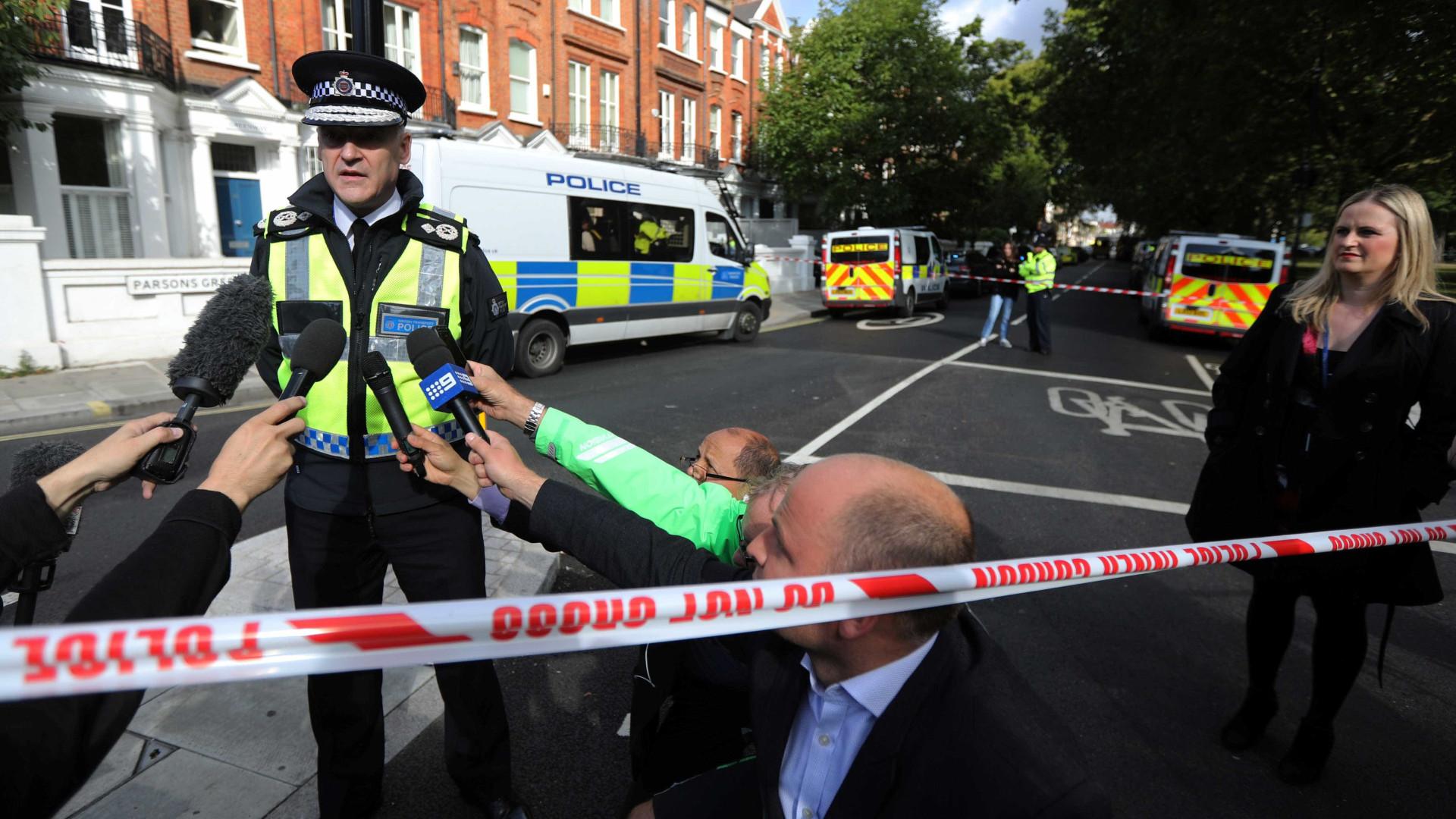 Identificado suspeito de estar envolvido na explosão de Londres