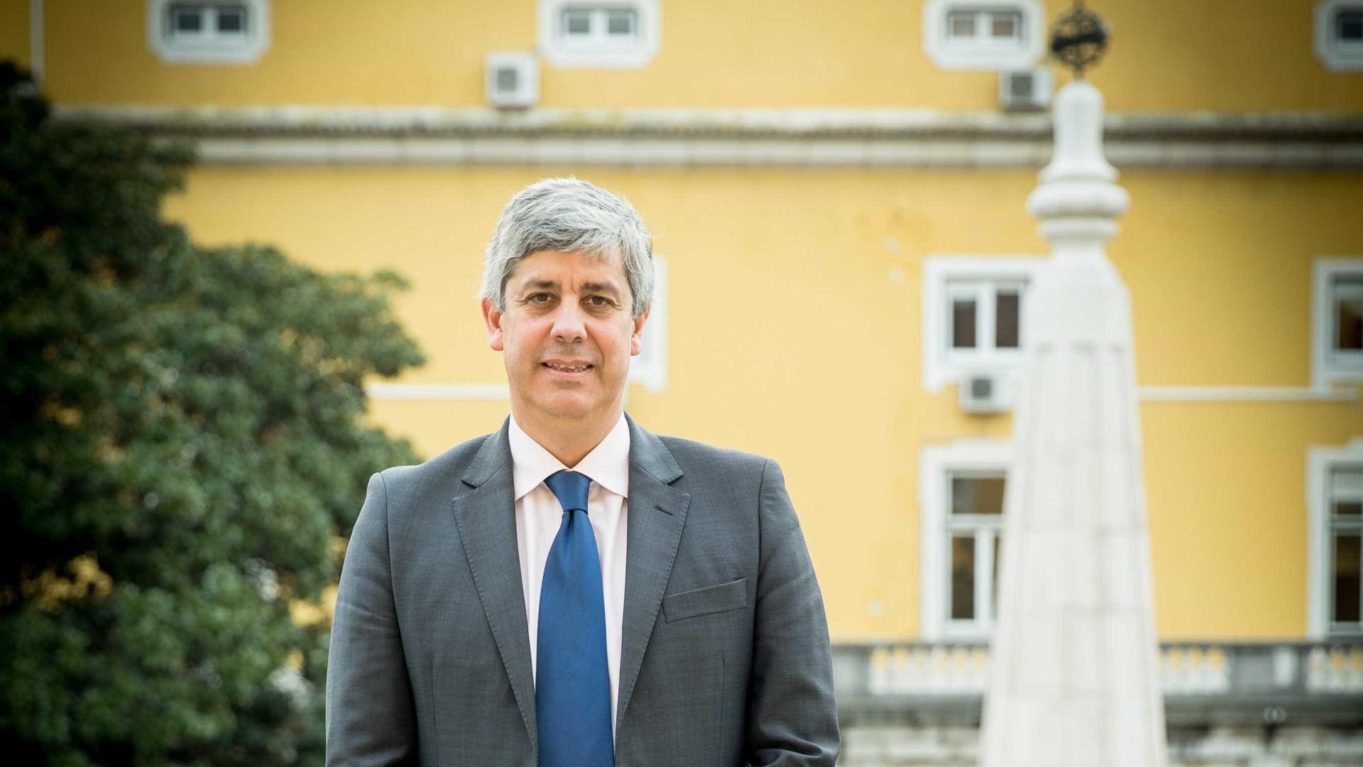 """Ministro das Finanças prevê """"redução muito significativa"""" das cativações"""