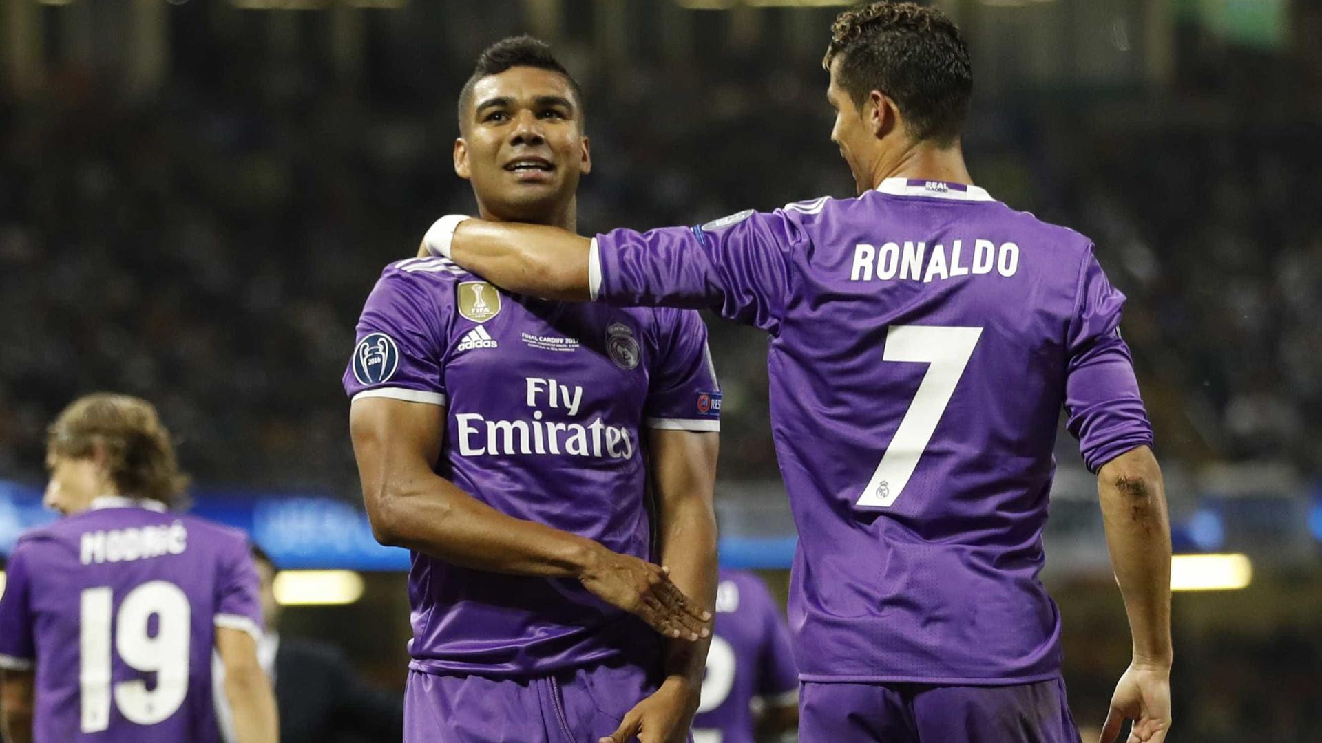 Casemiro revela palavras de Ronaldo depois de ter estado no FC Porto