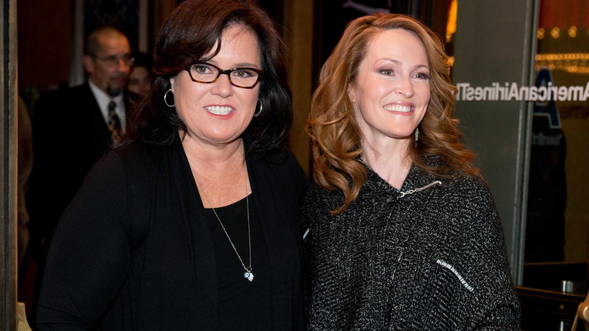 Rosie O'Donnell de luto após perda da ex-mulher