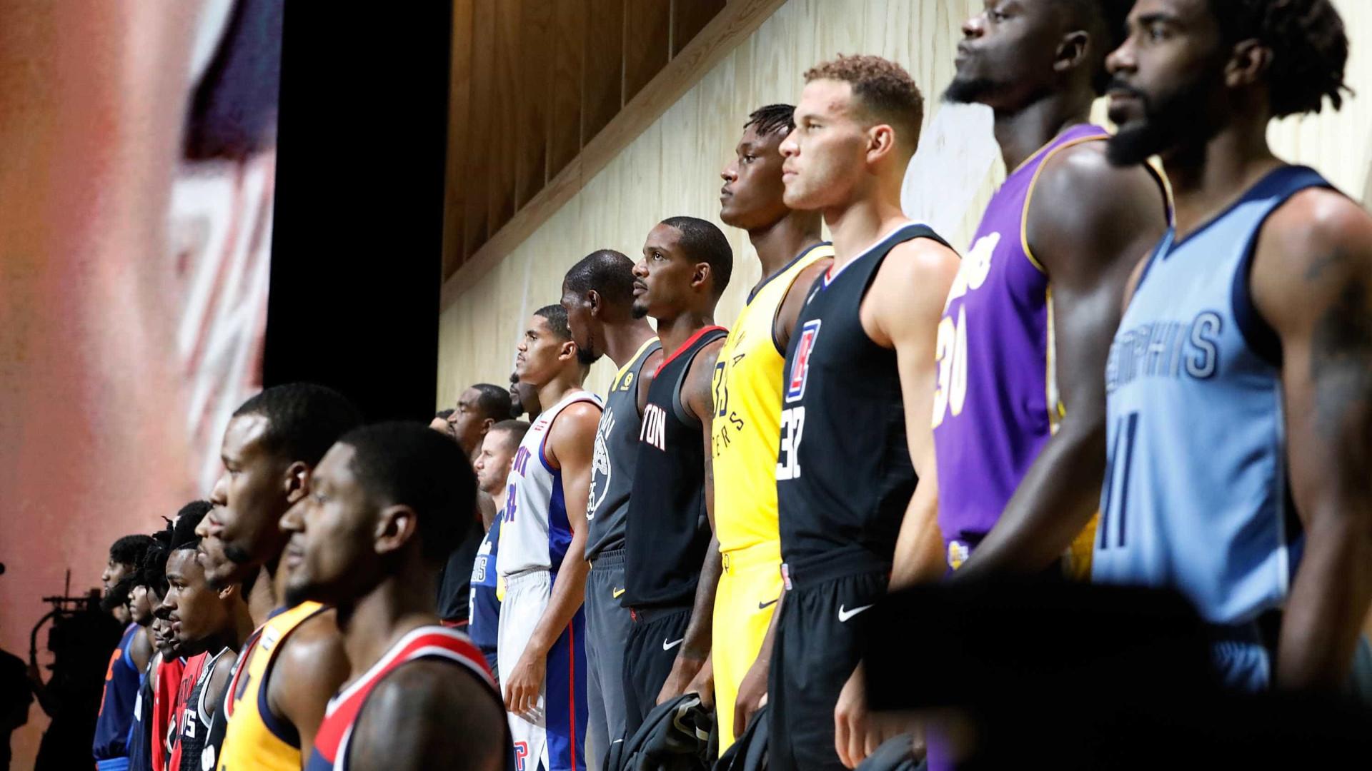 NBA: Assim vestirão as 30 equipas da NBA em 2017/18