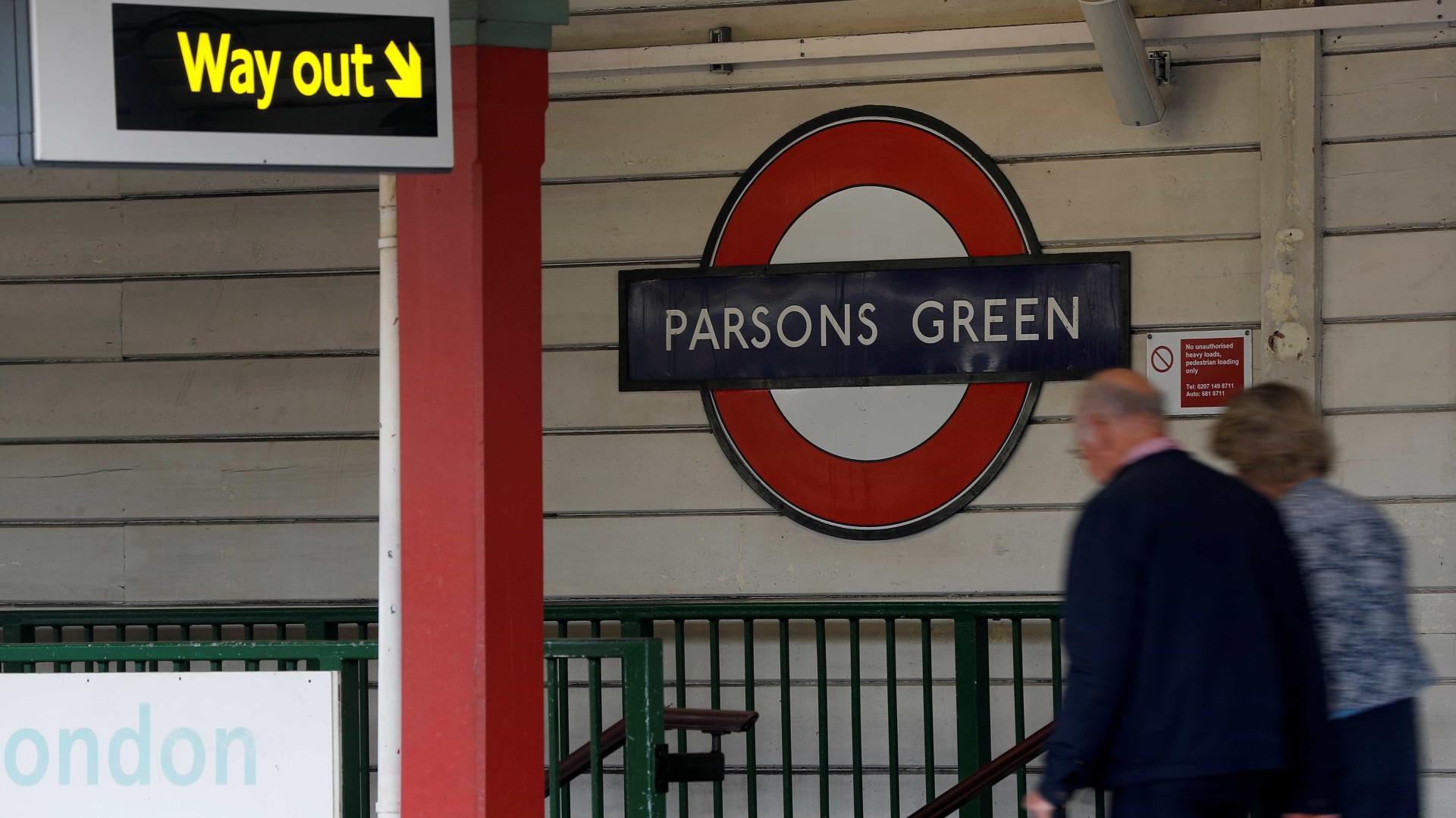 Após ataque, estação de metro de Parsons Green foi reaberta