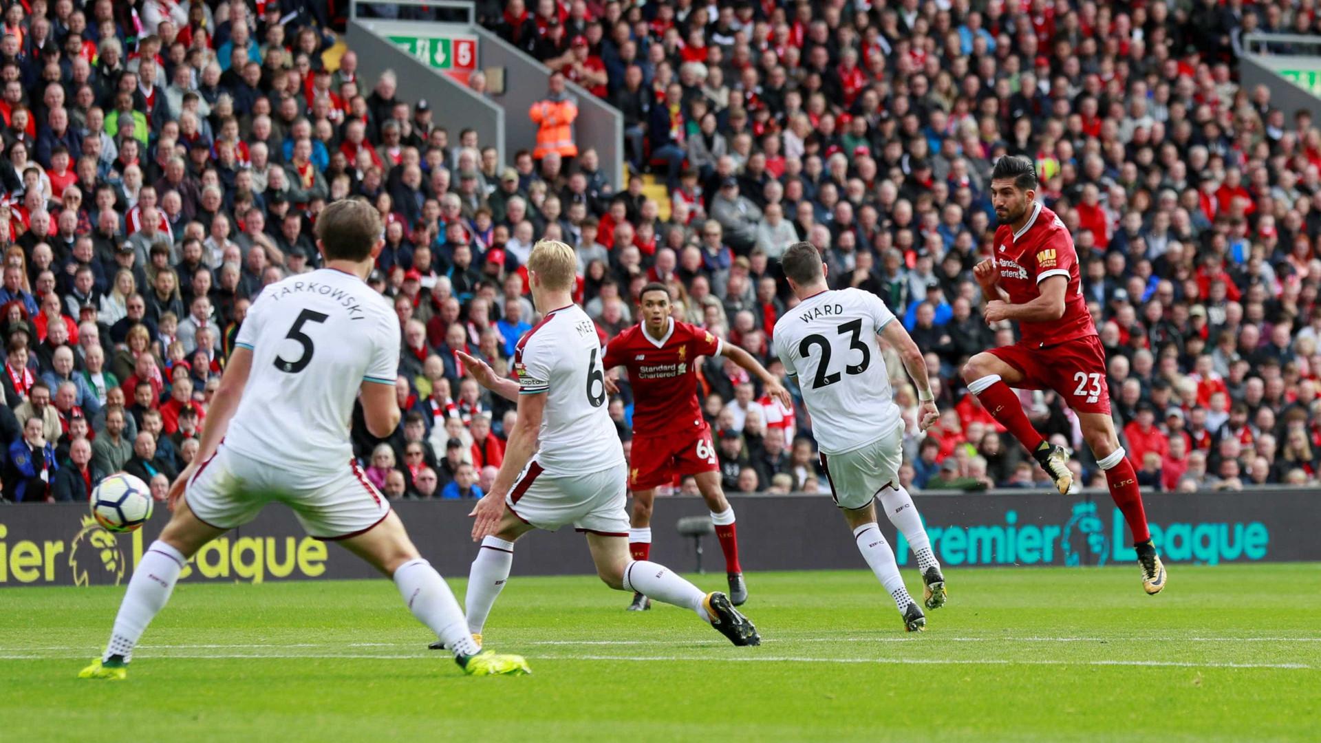Defesa brilhante de Pope impede vitória do Liverpool