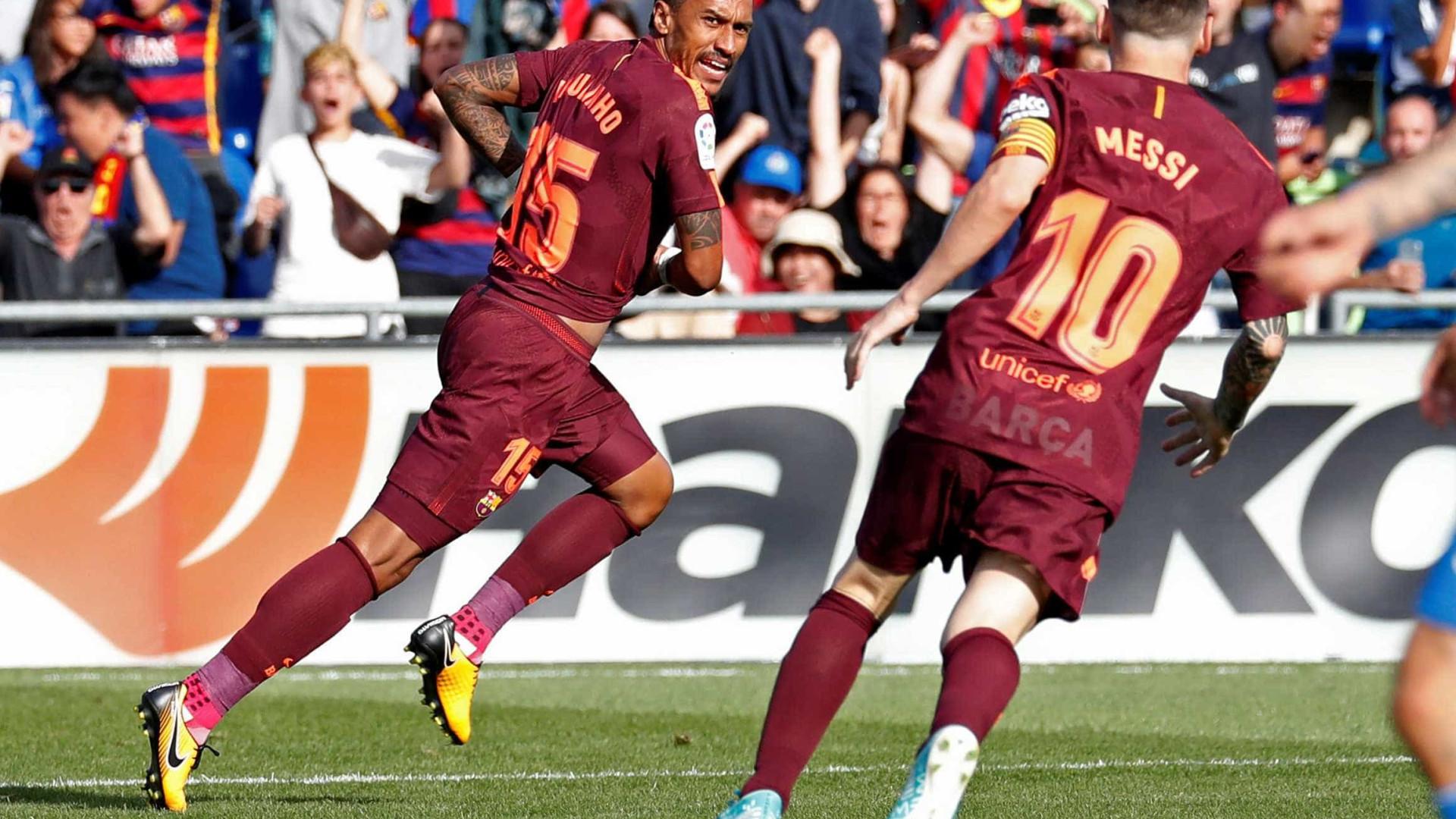 Paulinho entrou e 'salvou' o Barça do empate