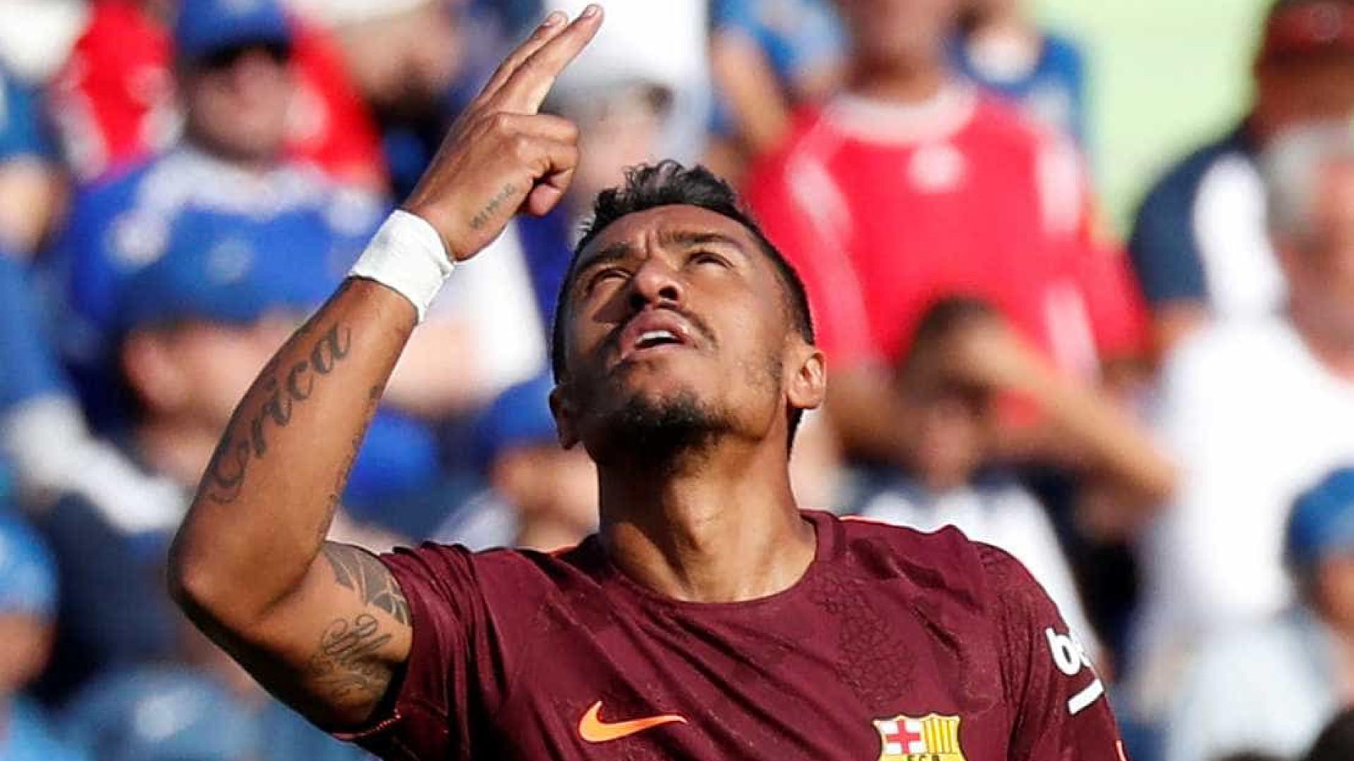 """""""Estou muito feliz por marcar o golo da vitória do Barcelona"""""""