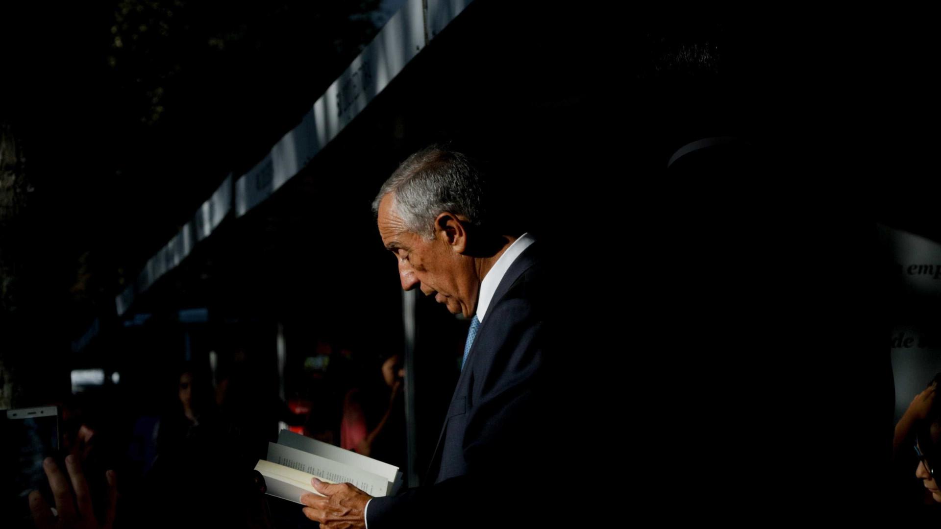 Marcelo sublinha papel de Maria José Moura na política de leitura pública