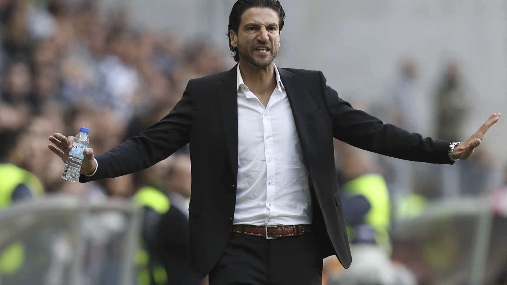"""""""Mérito? É uma vitória dos jogadores e do meu colega Miguel Leal"""""""