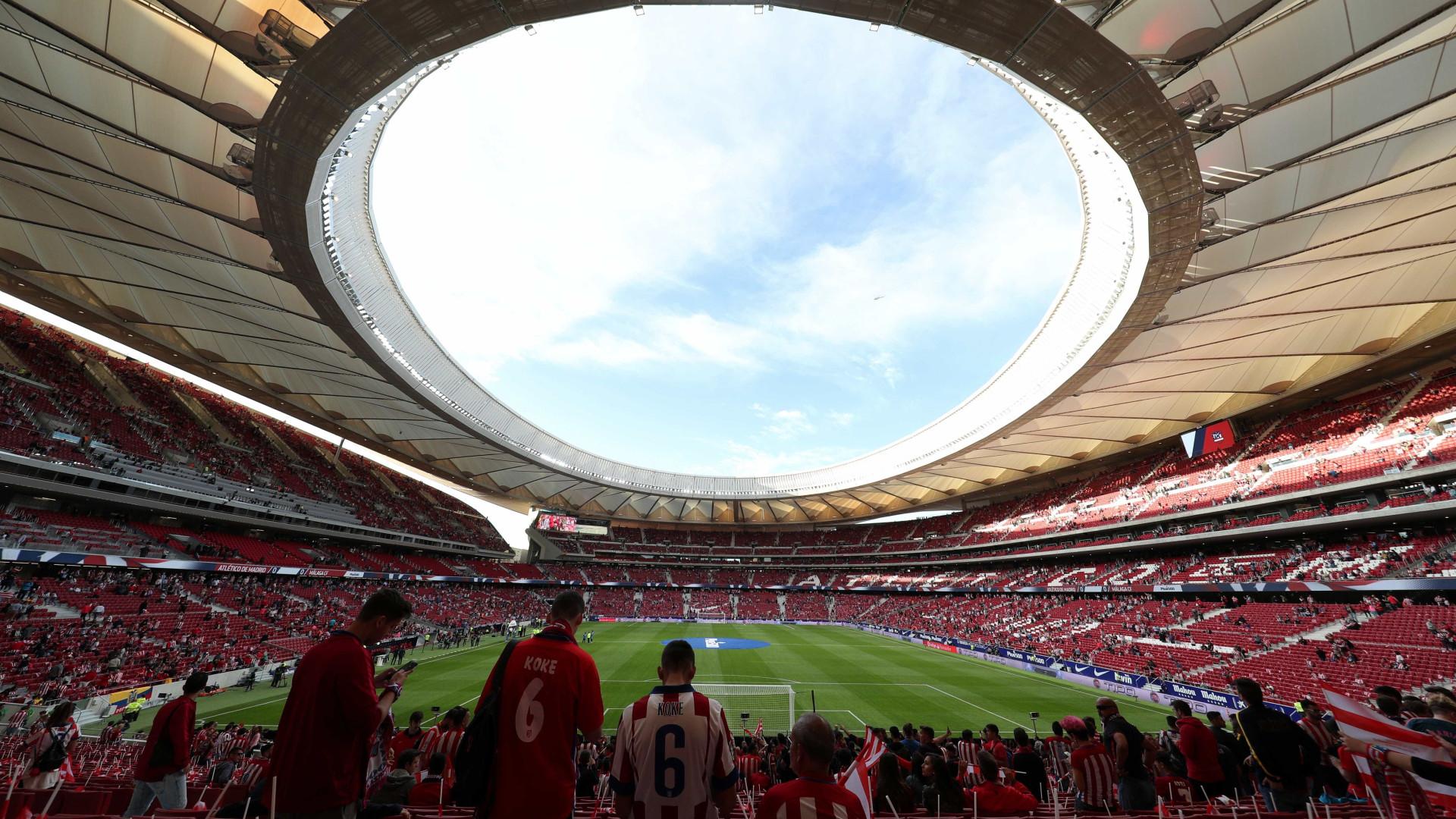 Atlético Madrid vence na inauguração do Wanda Metropolitano