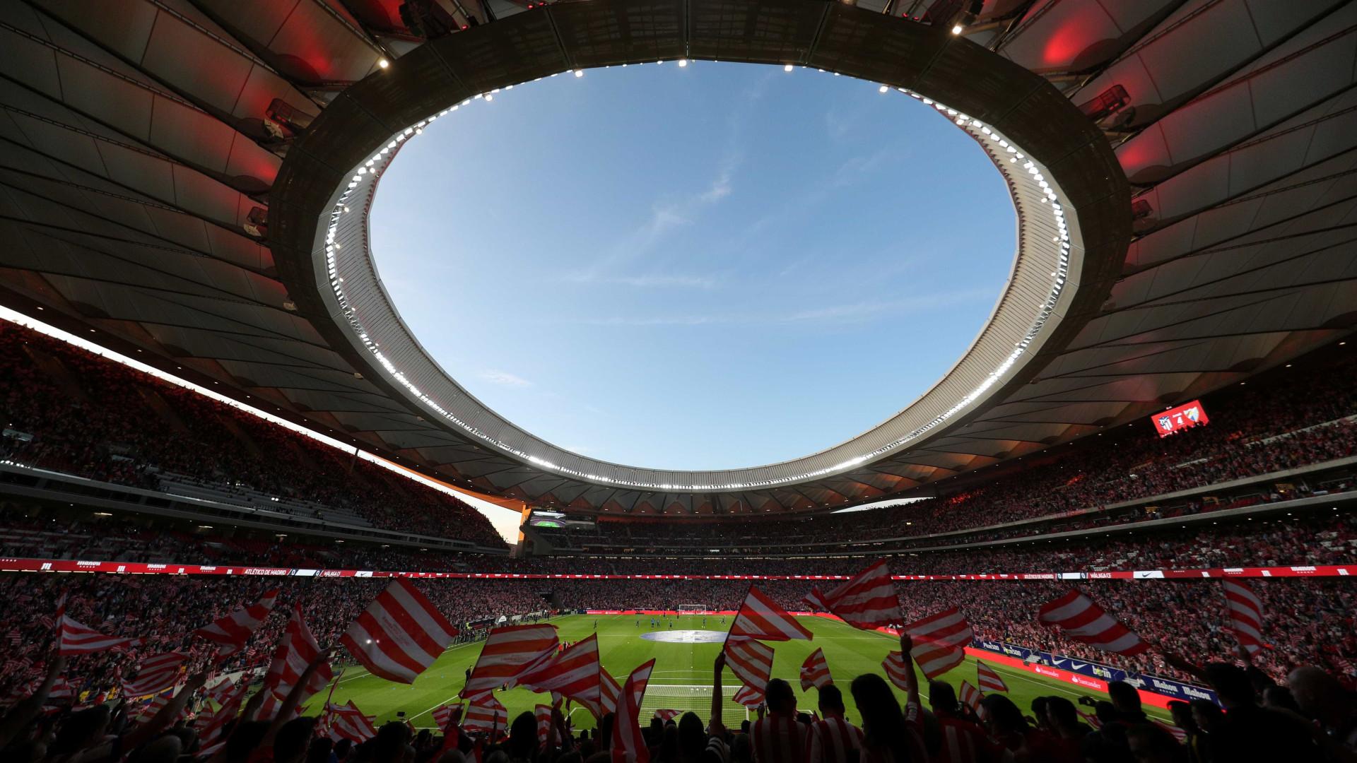Novo estádio do Atlético Madrid receberá final da Champions, em 2018/19