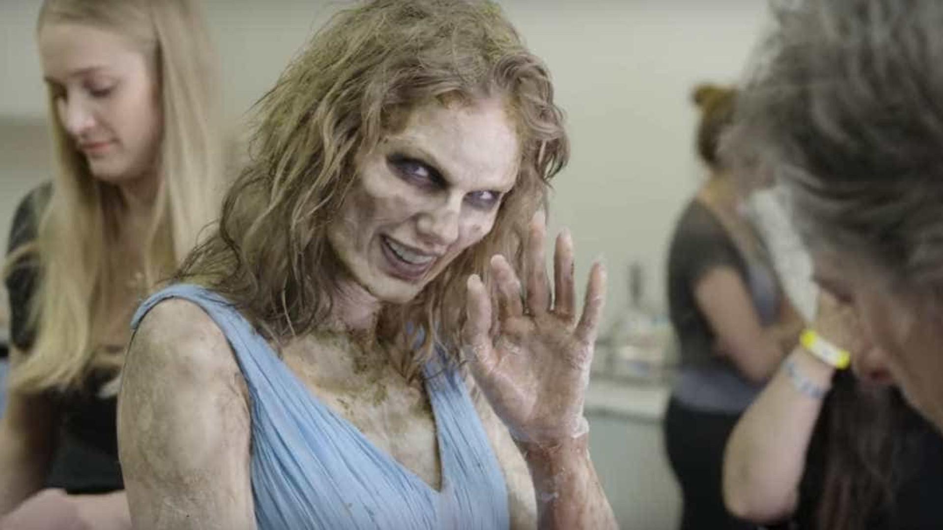Taylor Swift em versão zombie? Eis o processo de transformação