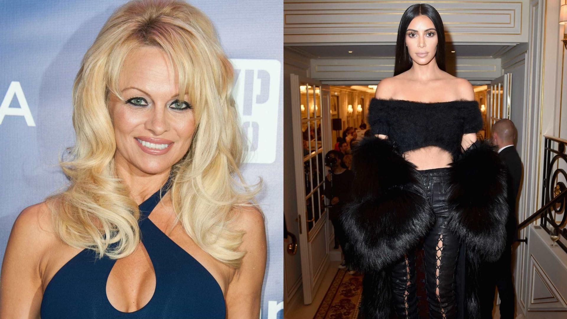 "Pamela Anderson envia carta a Kim Kardashian: ""Ficarias horrorizada"""
