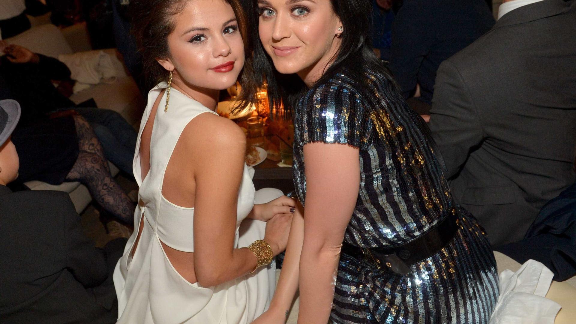 A amorosa mensagem de Katy Perry a Selena Gomez