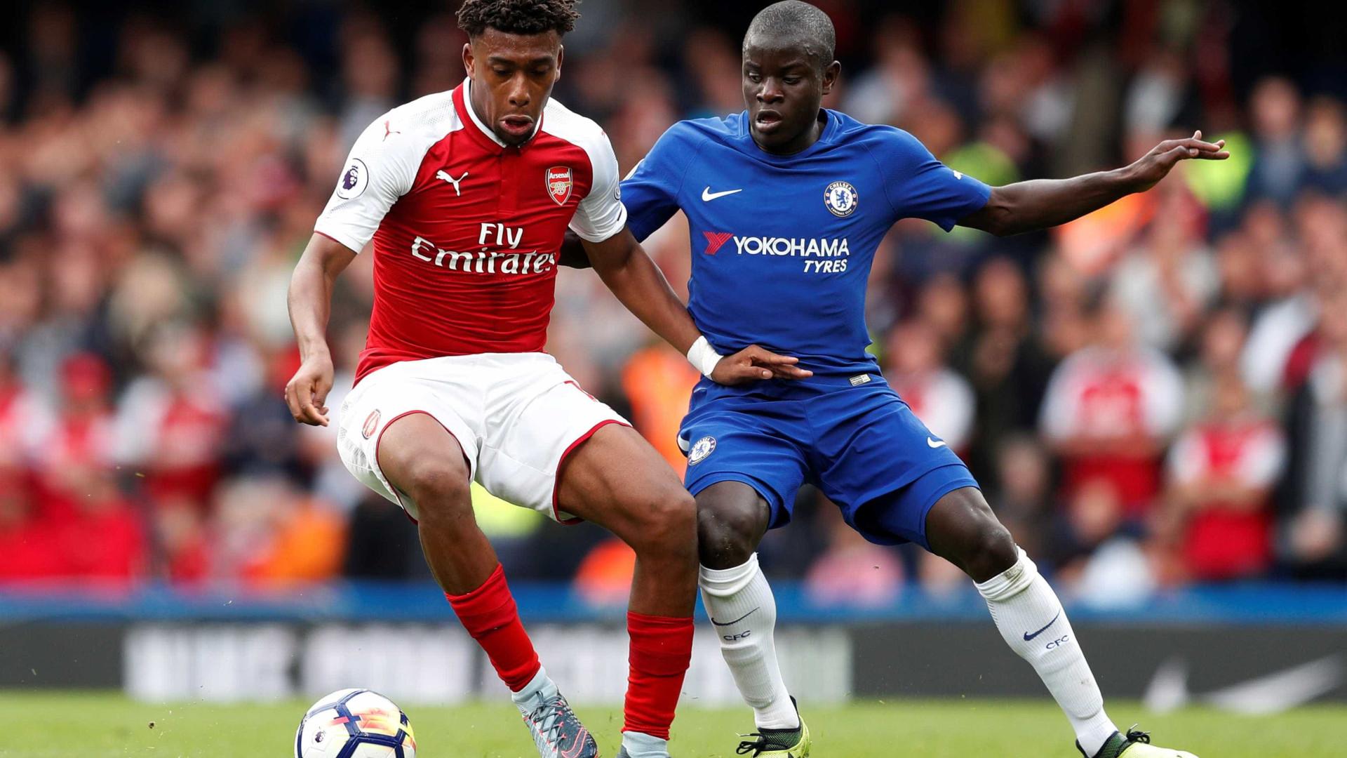Arsenal sai de Stamford Bridge com um empate