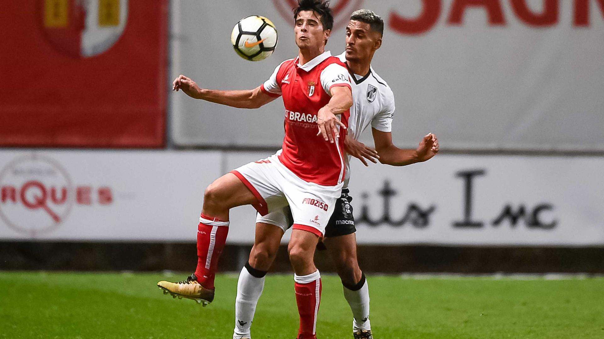 Sp. Braga bate rival do Minho e já está no sexto lugar