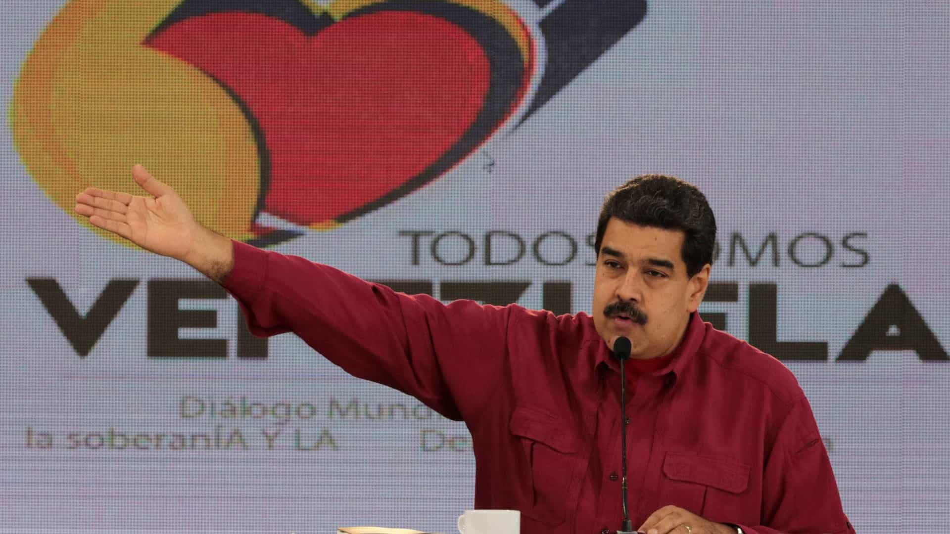 Presidente da Venezuela diz que Trump é 'o novo Hitler'
