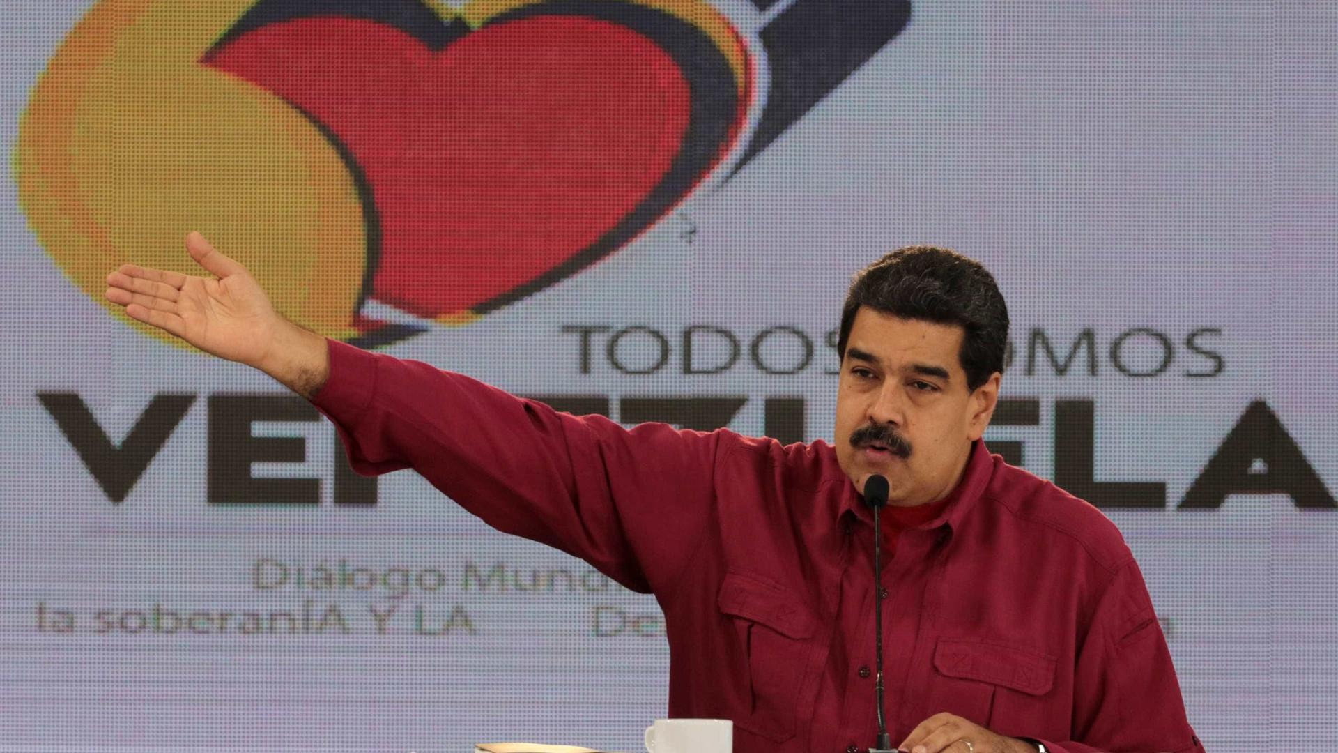 """Maduro apela à solidariedade com os povos dos """"países de merda"""""""