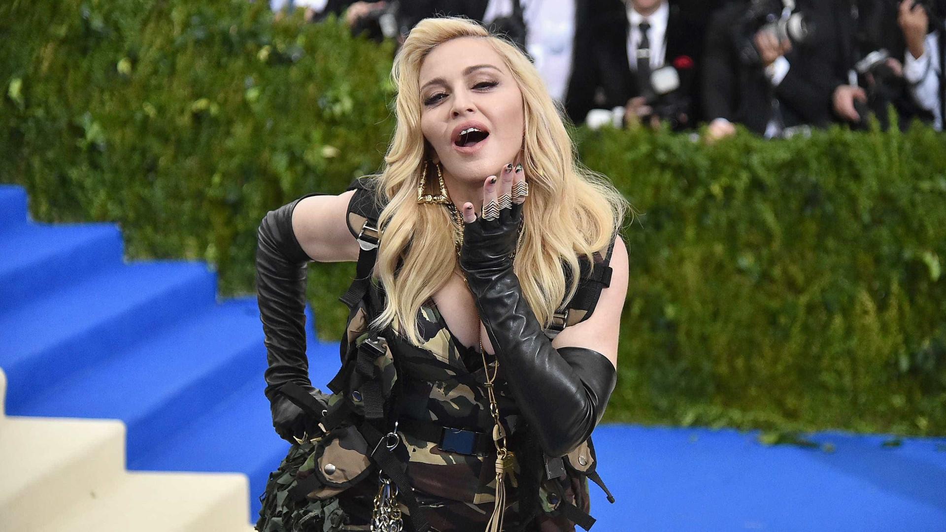 Madonna fala de Lisboa e revela fantasia com Obama no 'The Tonight Show'