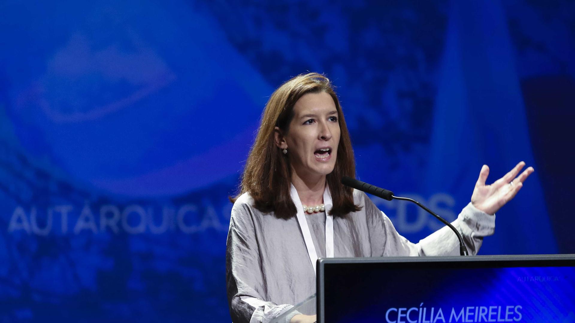 Cecília Meireles assume responsabilidade pela derrota do CDS no Porto