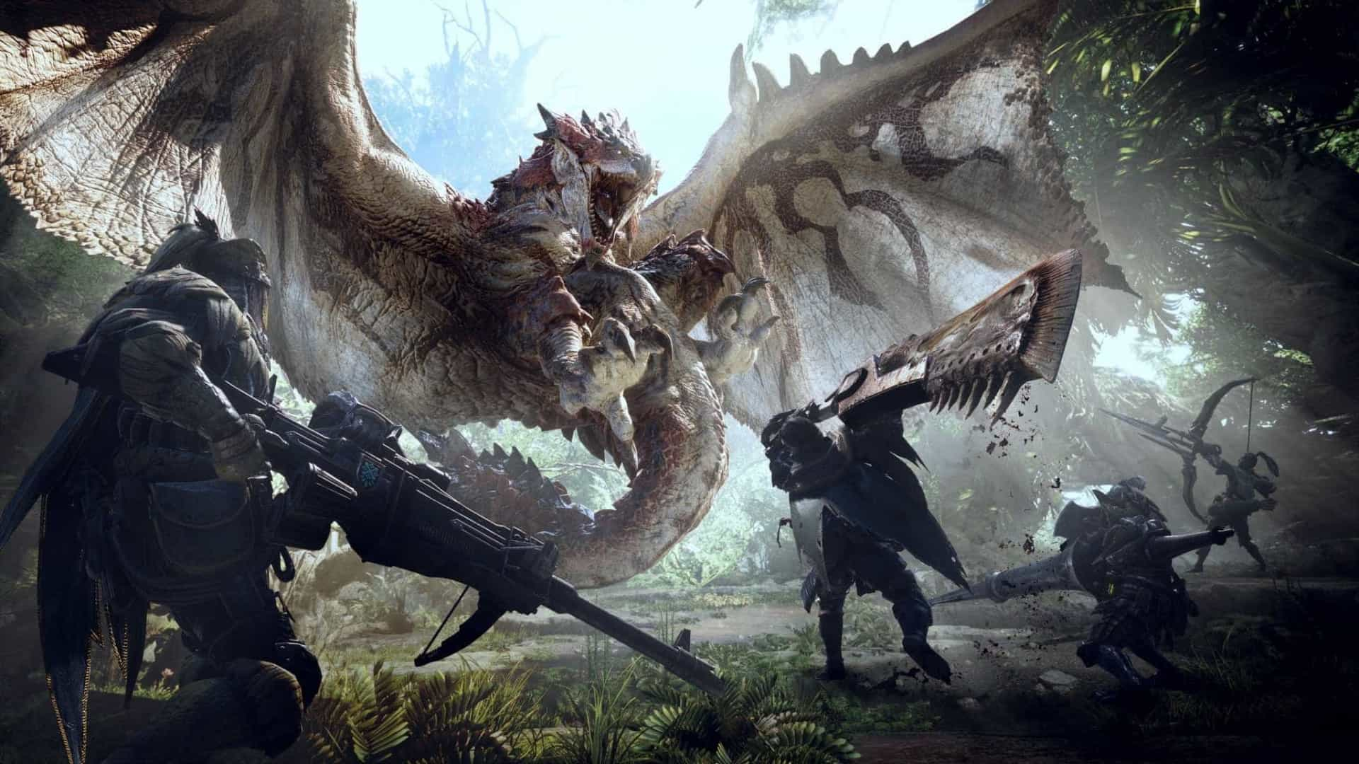 Monster Hunter: World recebe data de lançamento