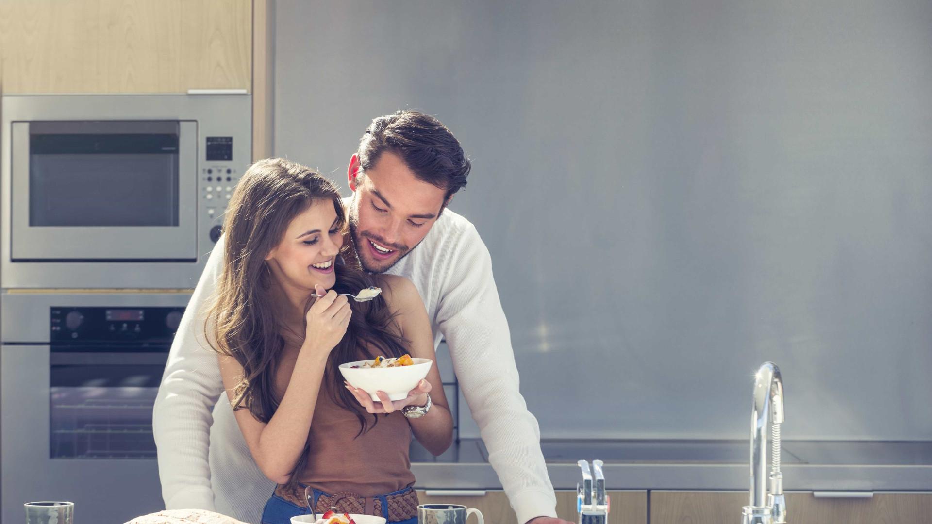 É por esta razão que a comida tem outro sabor quando se é comprometido