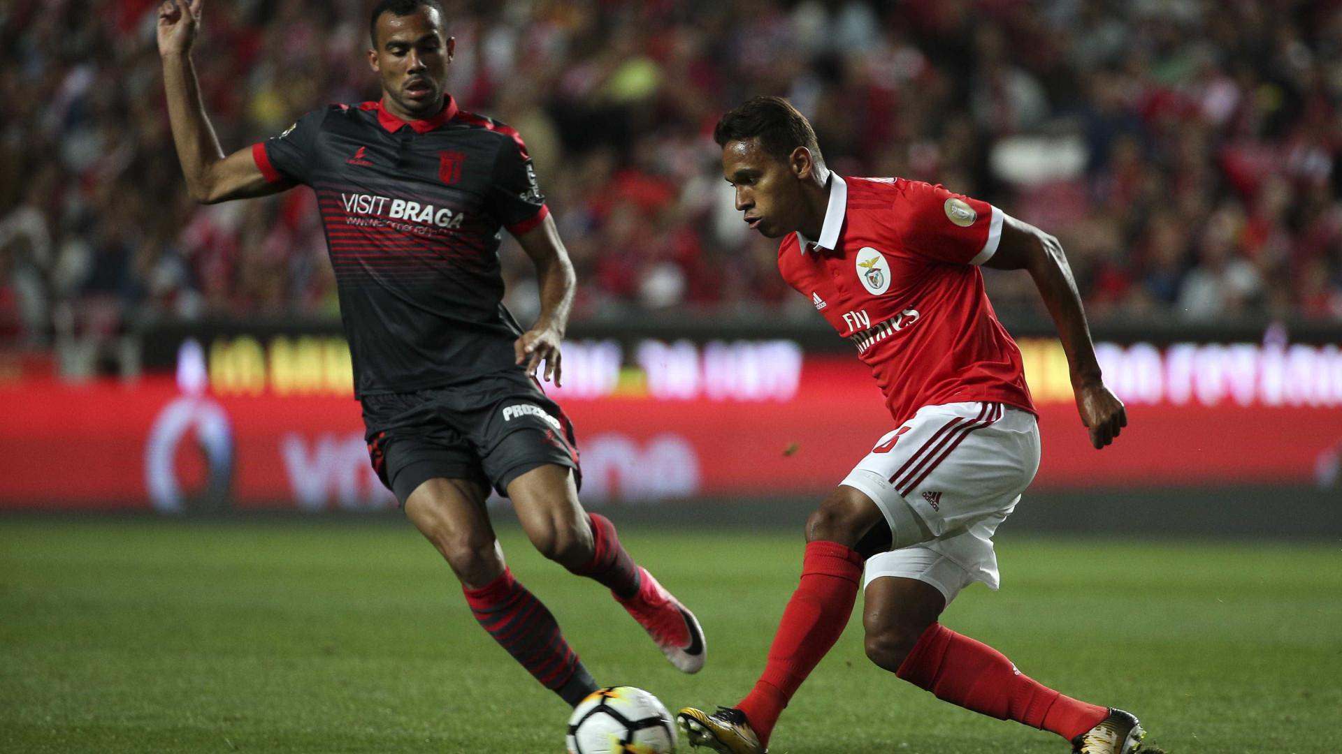 Rui Vitória promete mudanças frente ao Sp. Braga