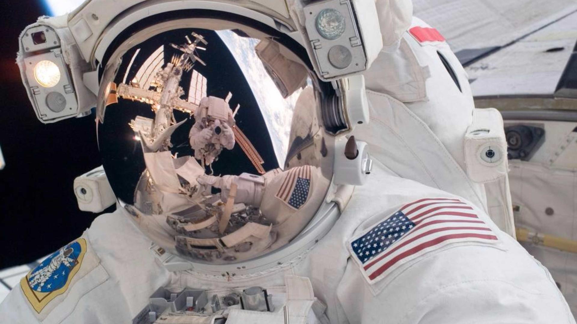 As selfies mais incríveis do mundo foram tiradas no Espaço