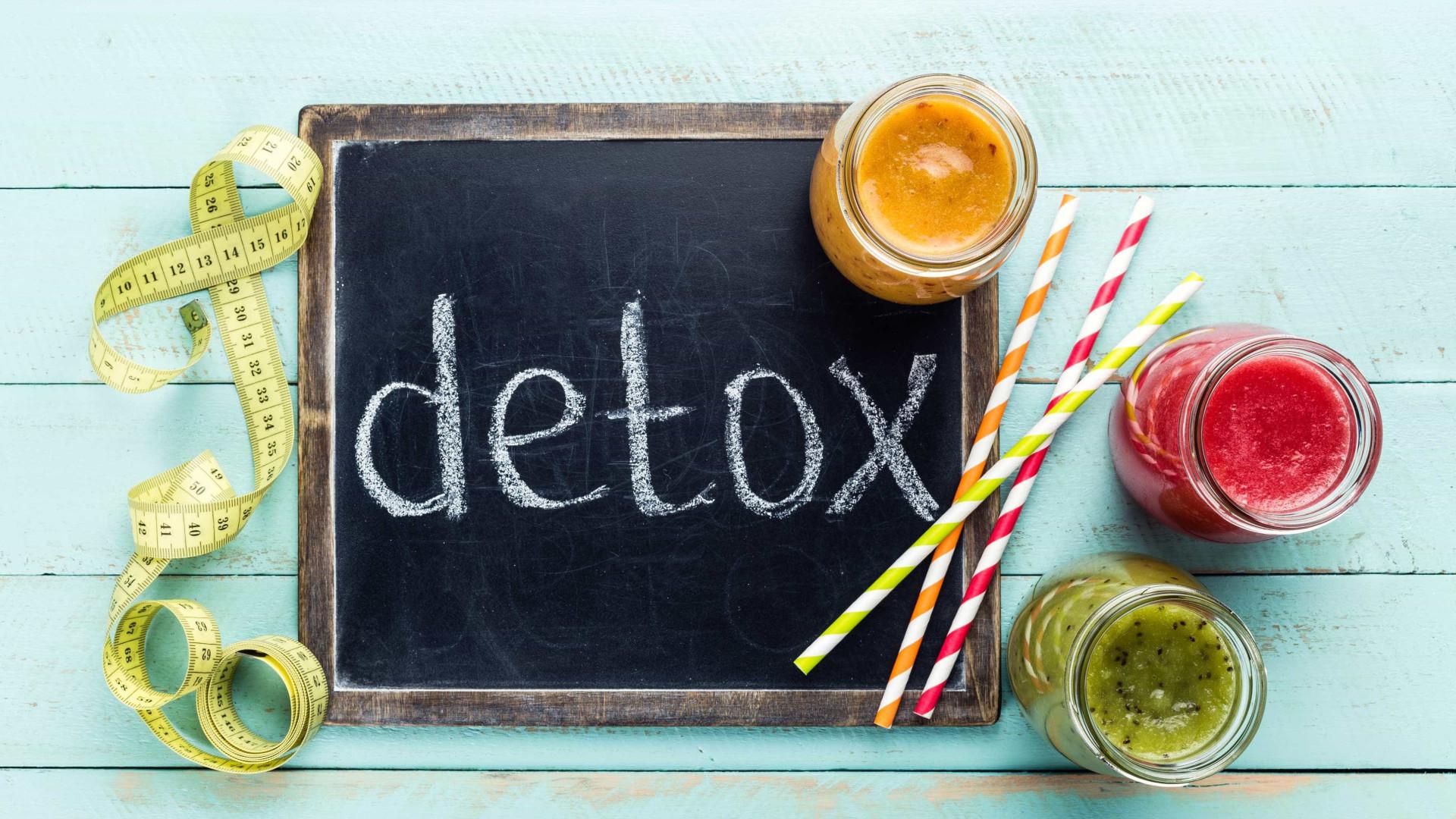 Cinco técnicas detox que pode colocar em prática todos os dias