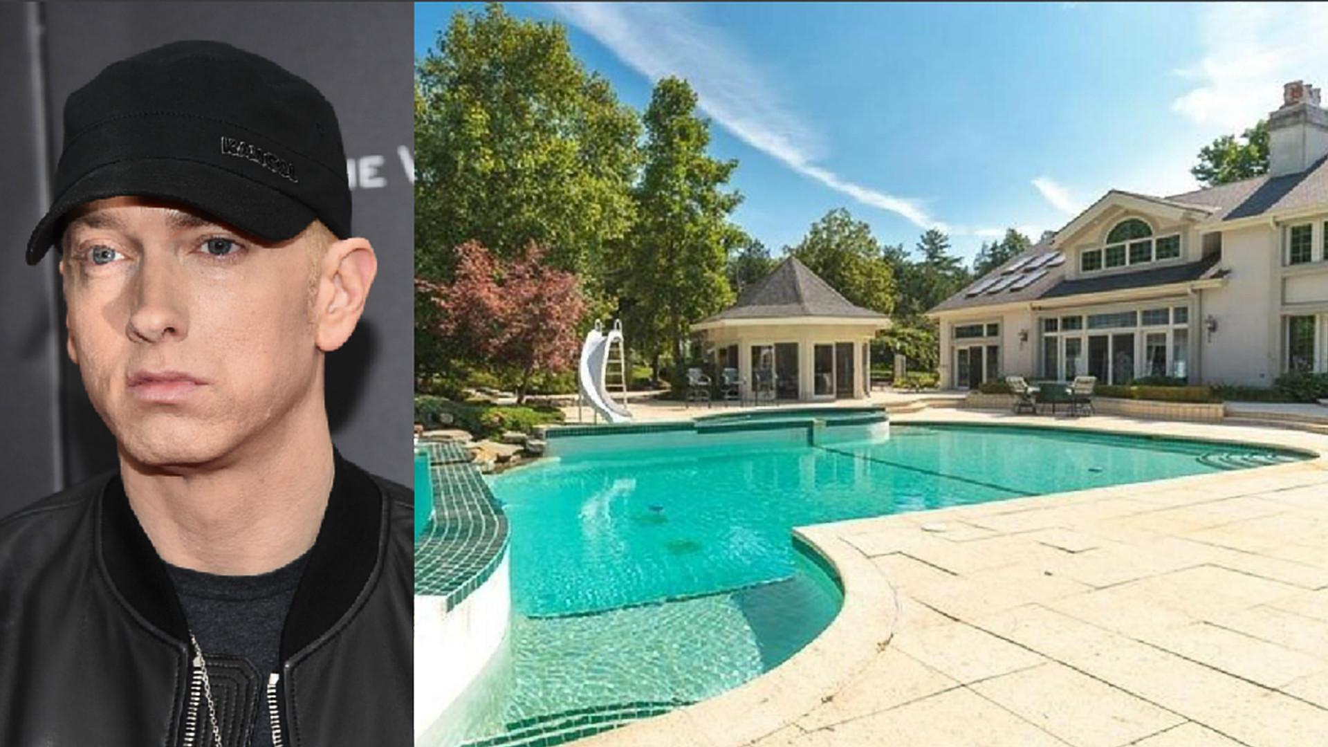 'Pechincha': Eminem vende mansão por metade do preço