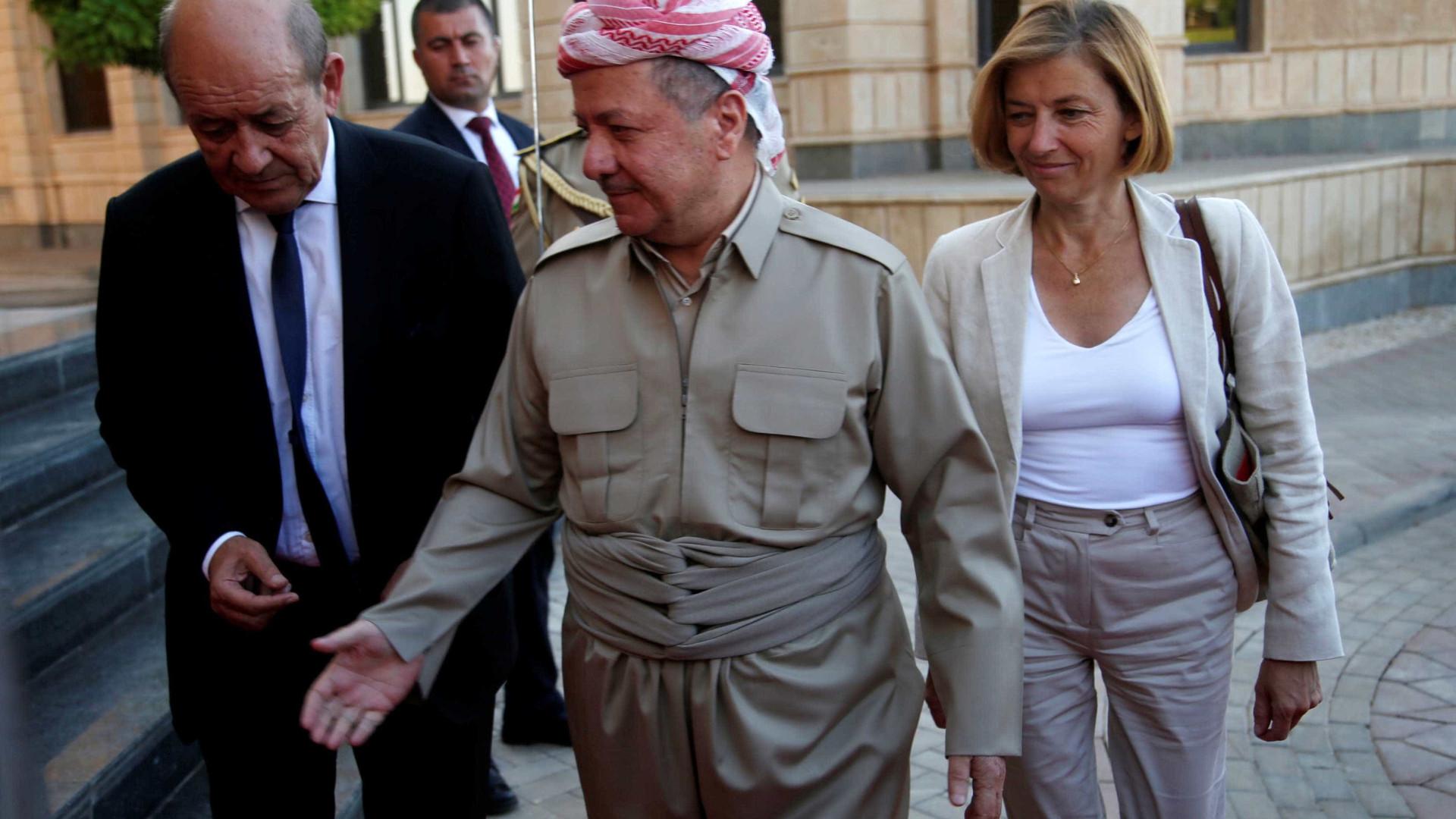 Irã fecha fronteiras e Turquia ameaça exportação de óleo — Referendo no Curdistão