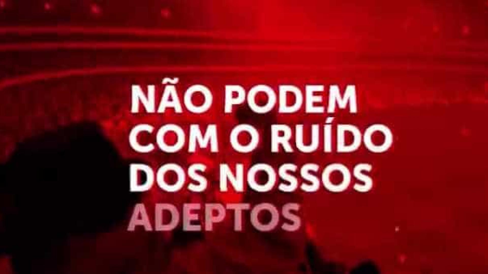 """Benfica divulga vídeo: """"Gostavam de estar na nossa pele"""""""