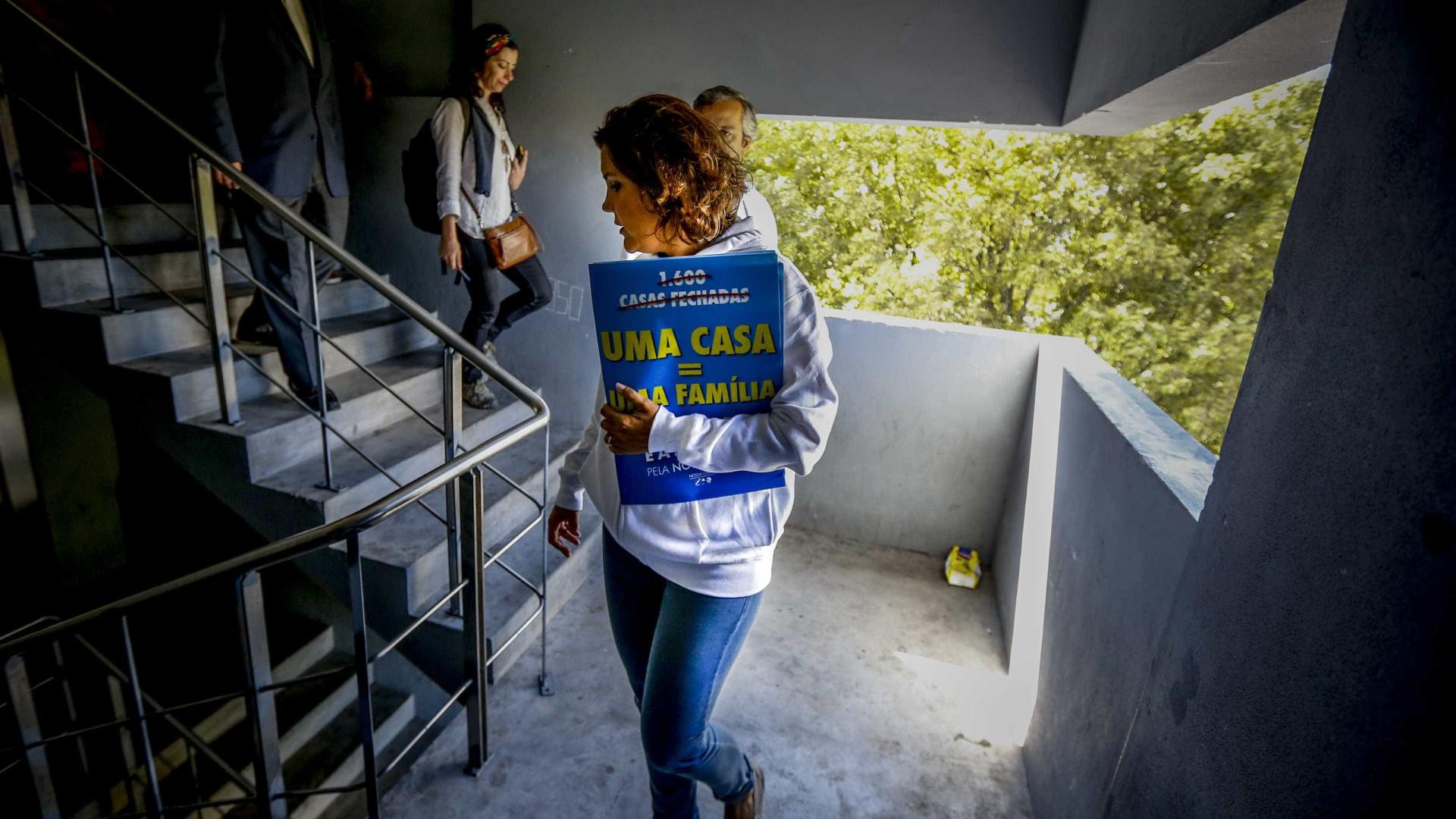 Autárquicas: Líderes de norte a sul em dia de regresso de Manuel Monteiro