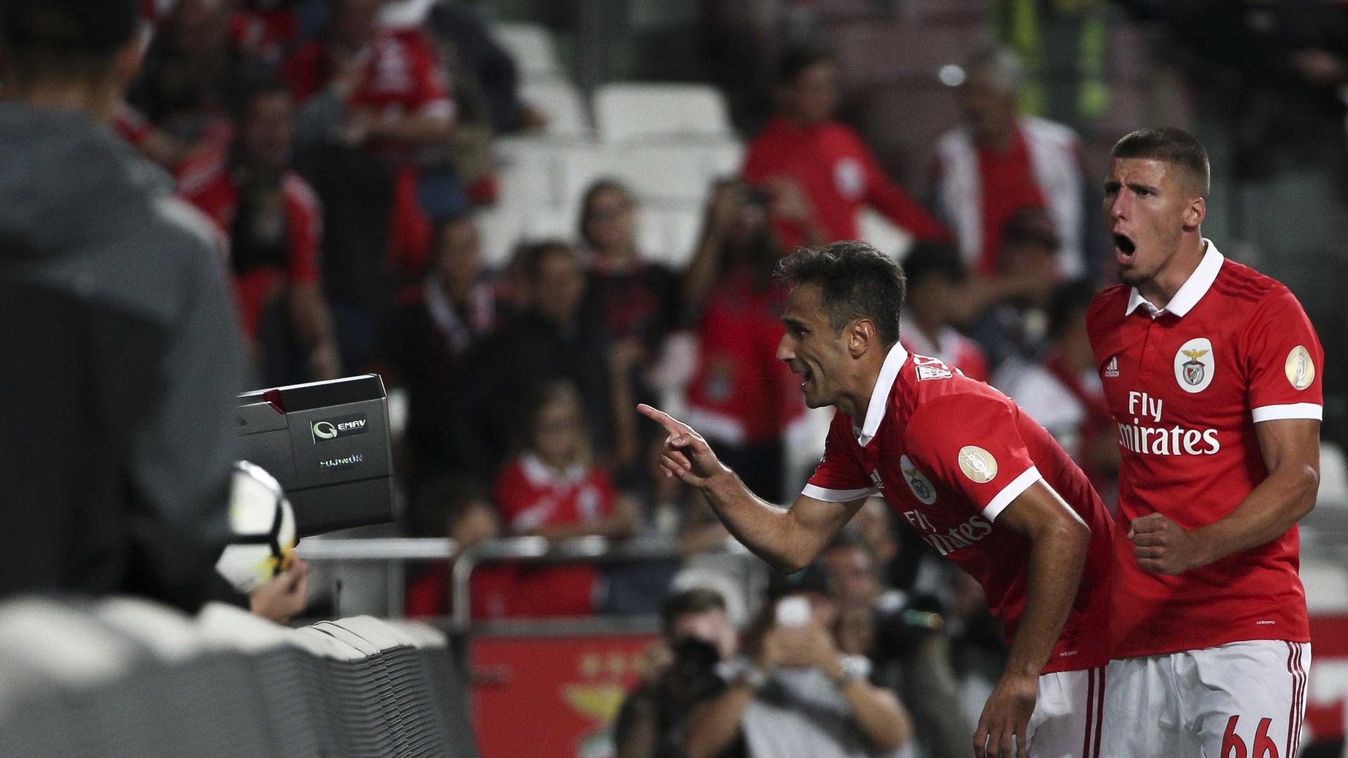 Benfica no top-5 dos clubes que mais marcaram na UEFA